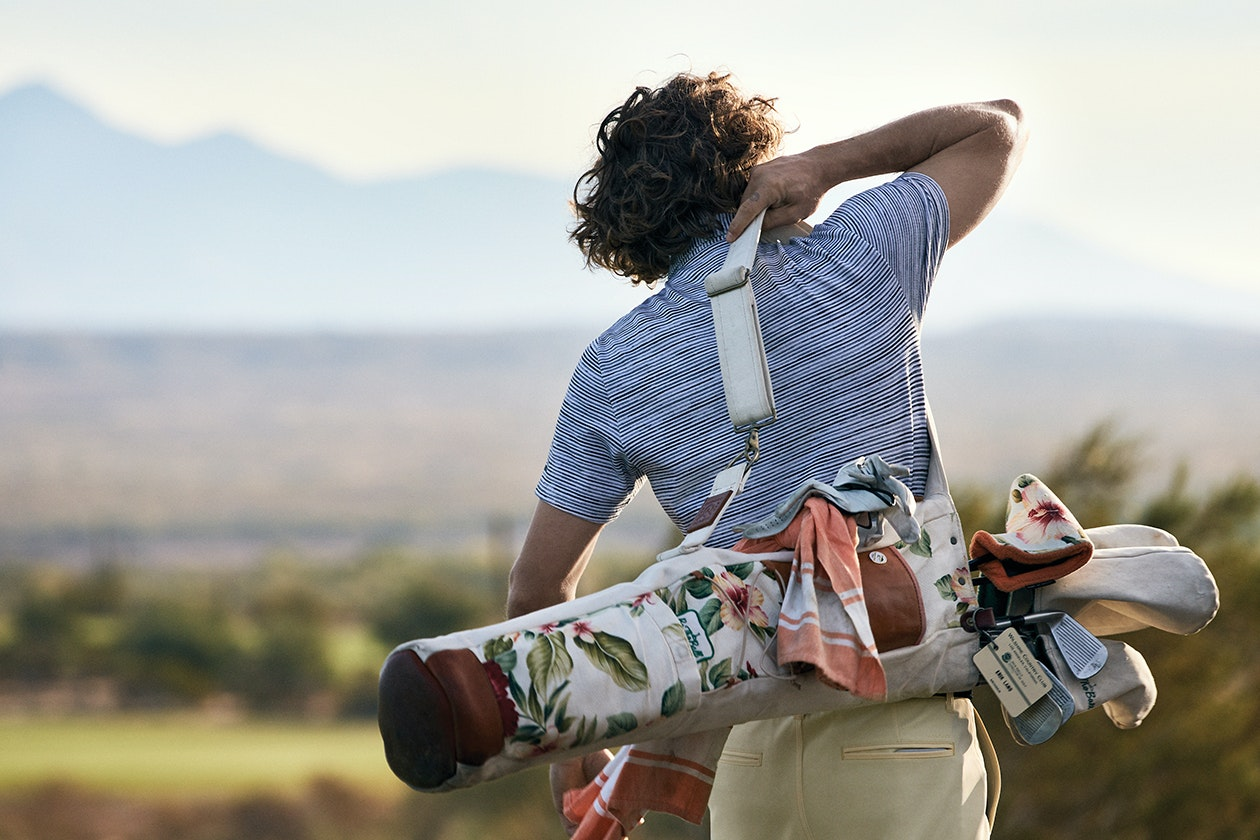 Editorial photo for Golf Polos category