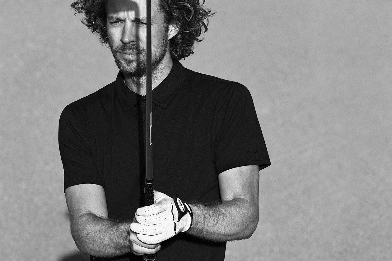 Stretch Pima Golf Polos Hero Image