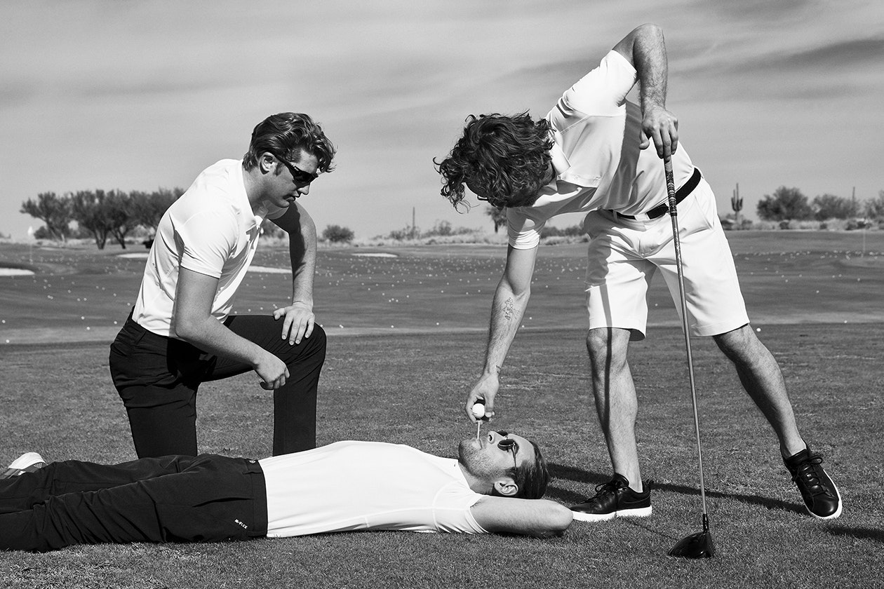 Editorial photo for Highland Tour Golf Shorts category