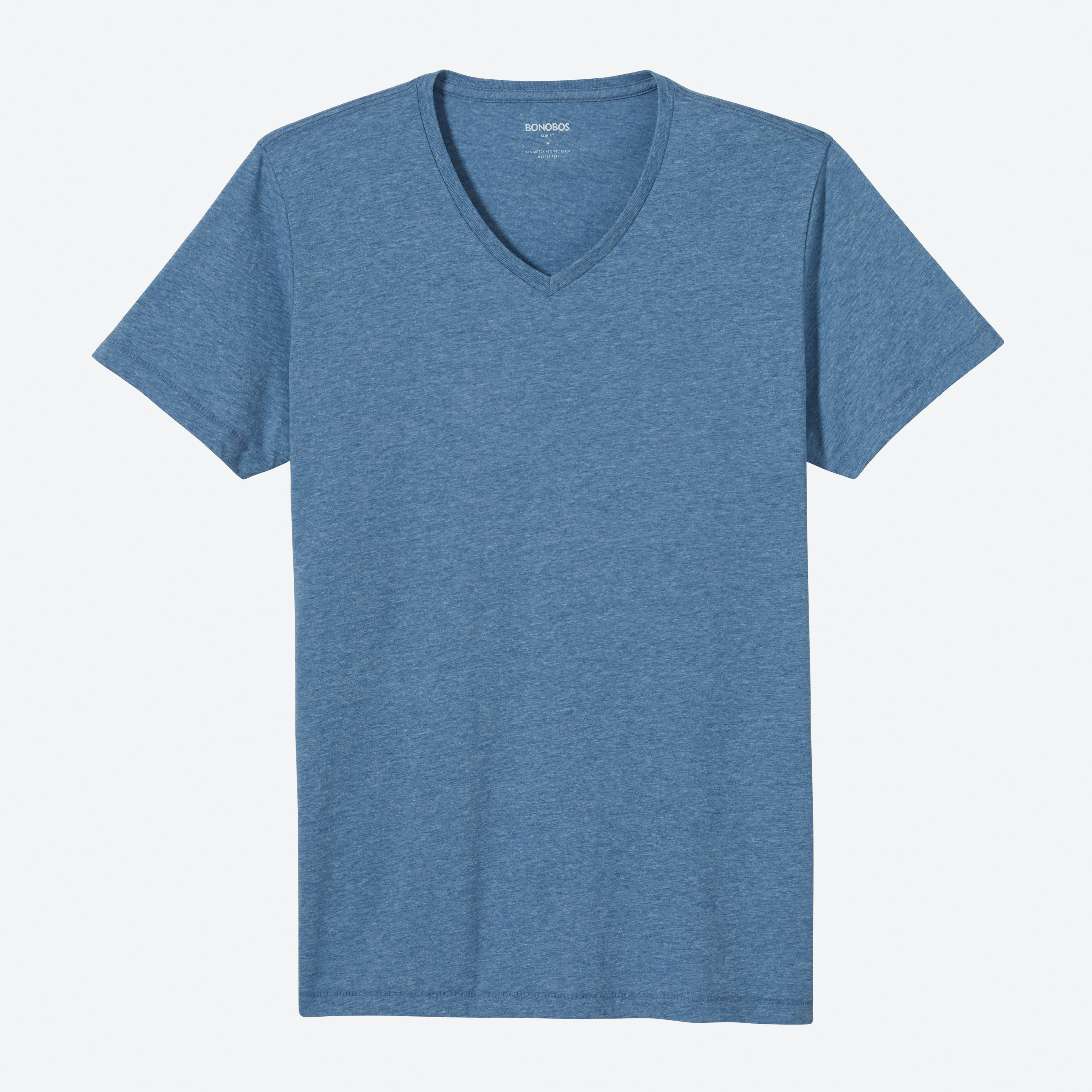 Yarn Spun V-Neck Tee