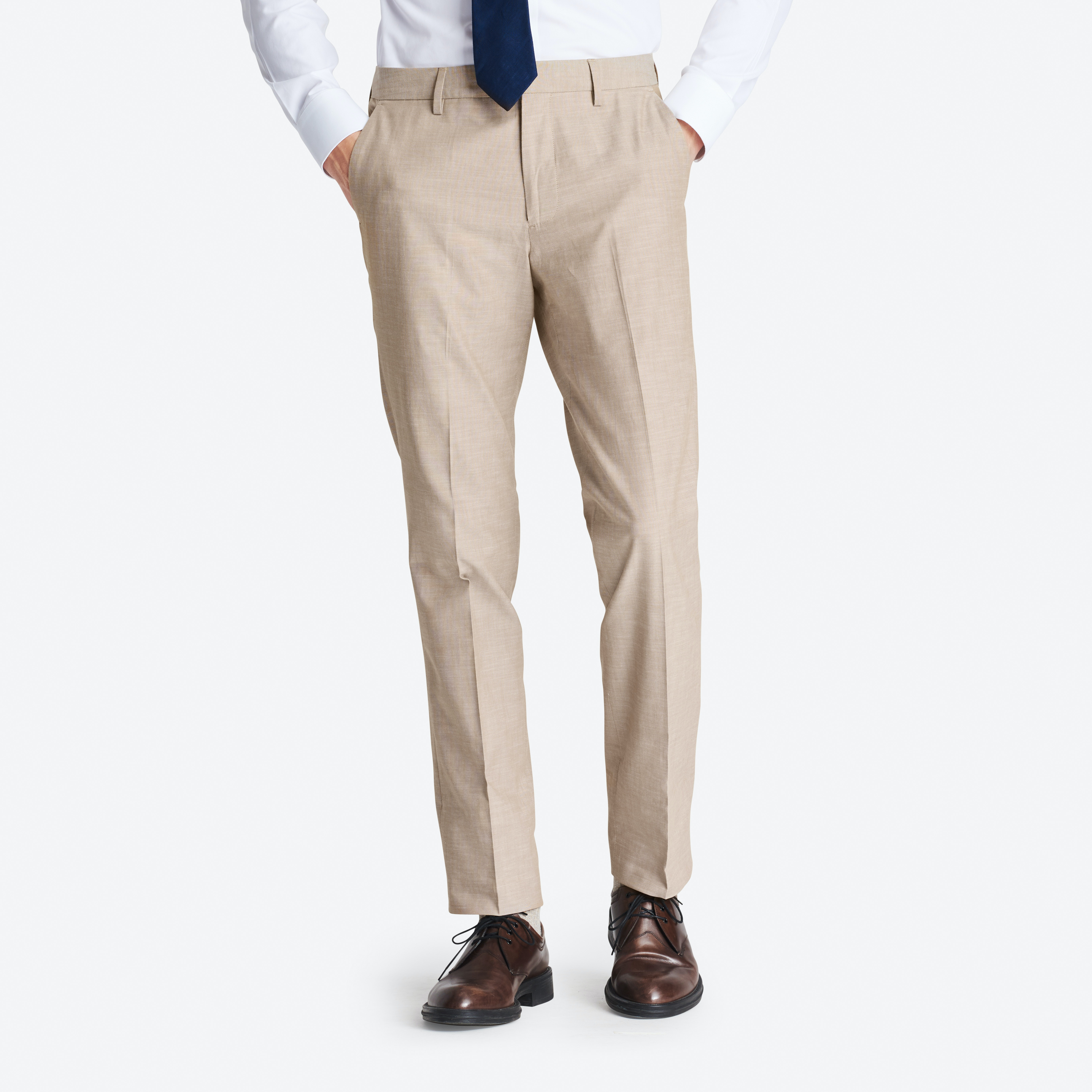 Foundation Chambray Suit Pant thumbnail
