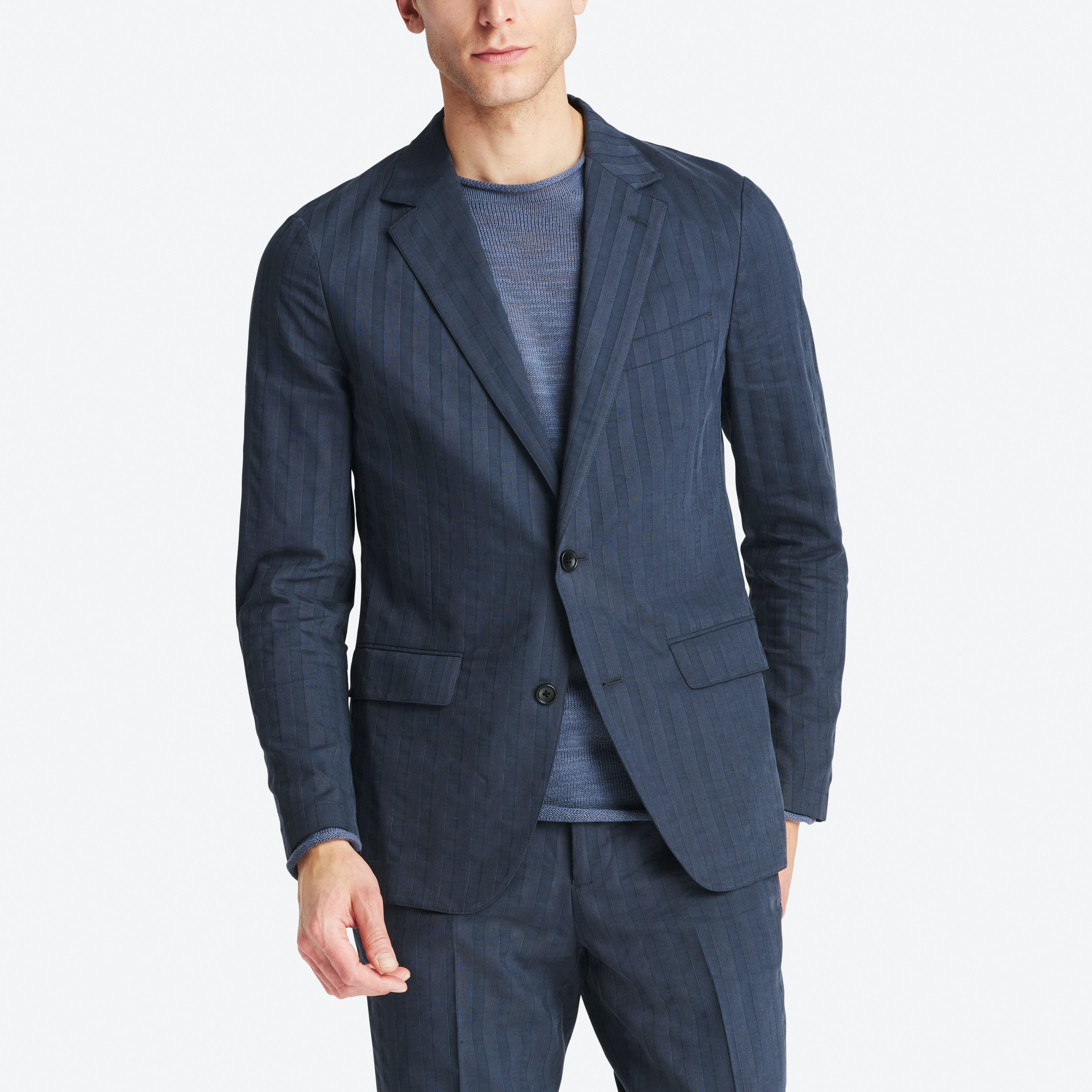 Lightweight Italian Cotton Suit Jacket thumbnail