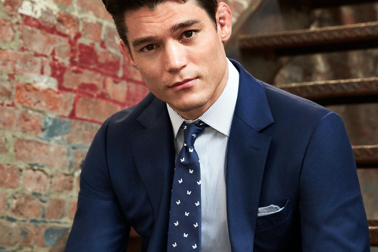Premium Italian Wool Suit Hero Image