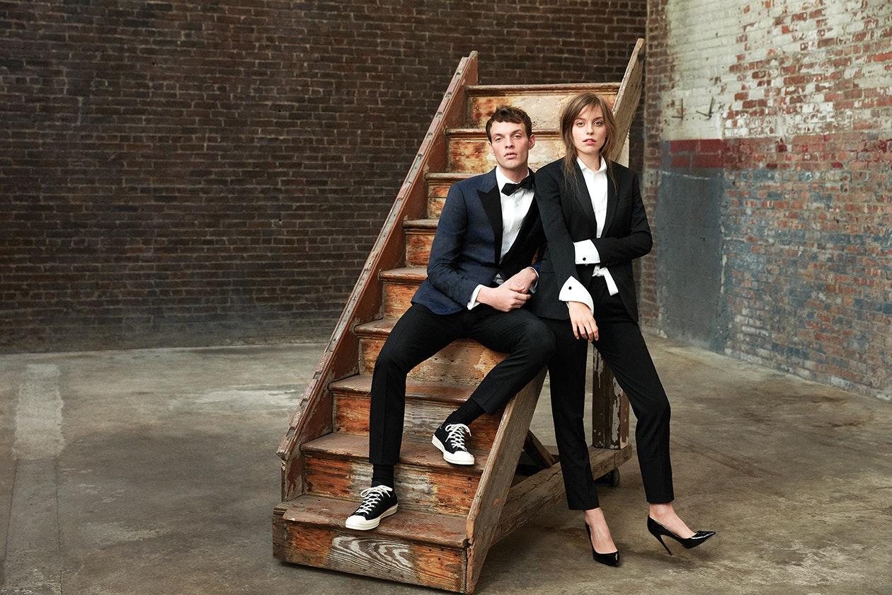Editorial photo for Capstone Italian Wool Tuxedo category