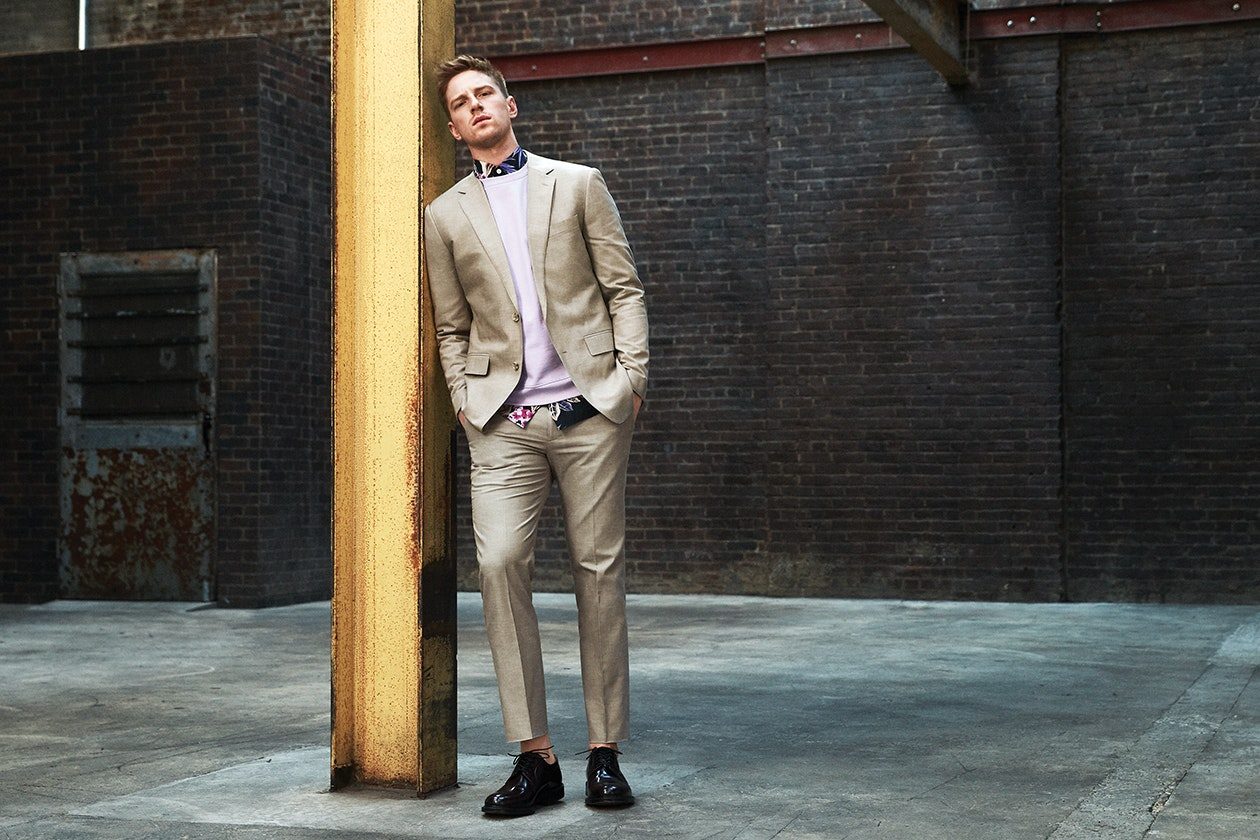 Editorial photo for Foundation Chambray Suit category