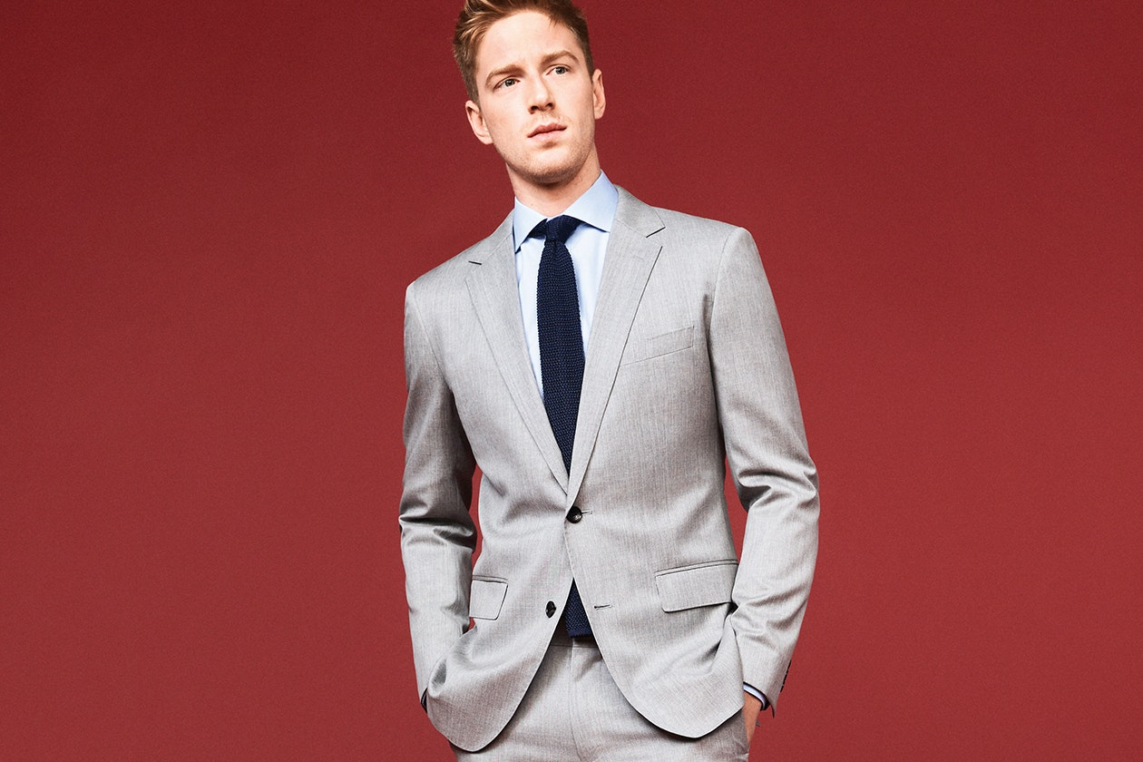 Foundation Italian Wool Suit Hero Image