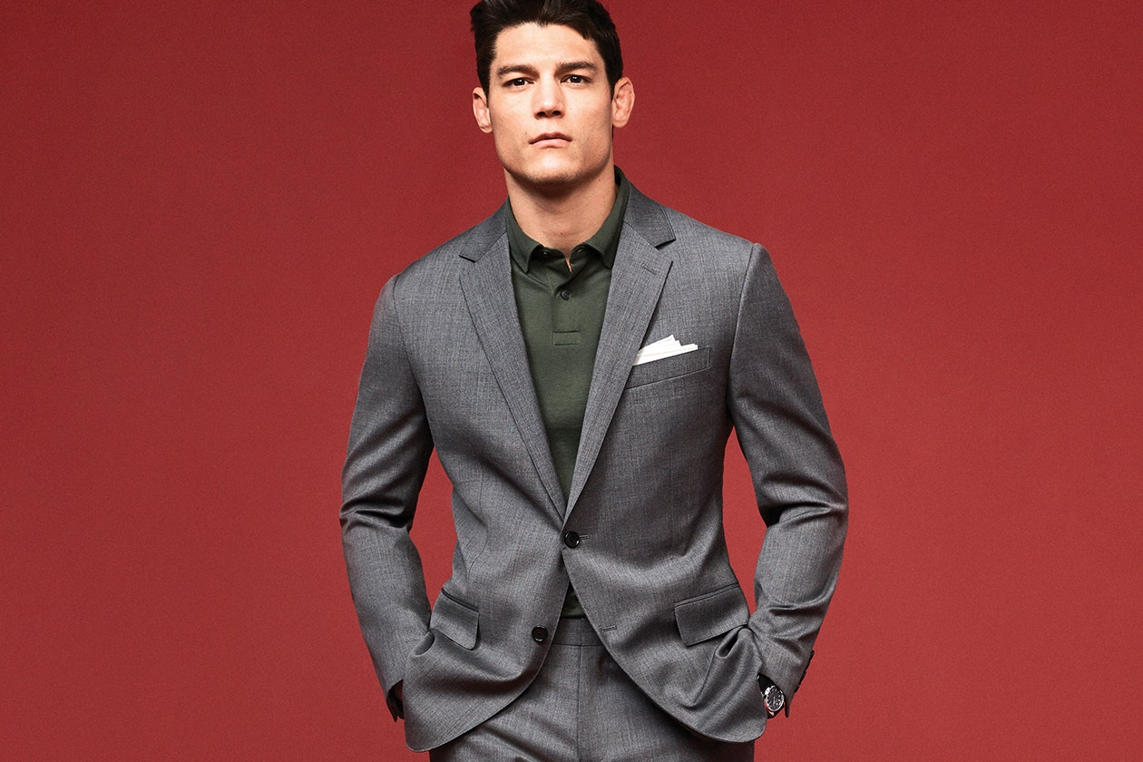Editorial photo for Jetsetter Stretch Wool Suit category