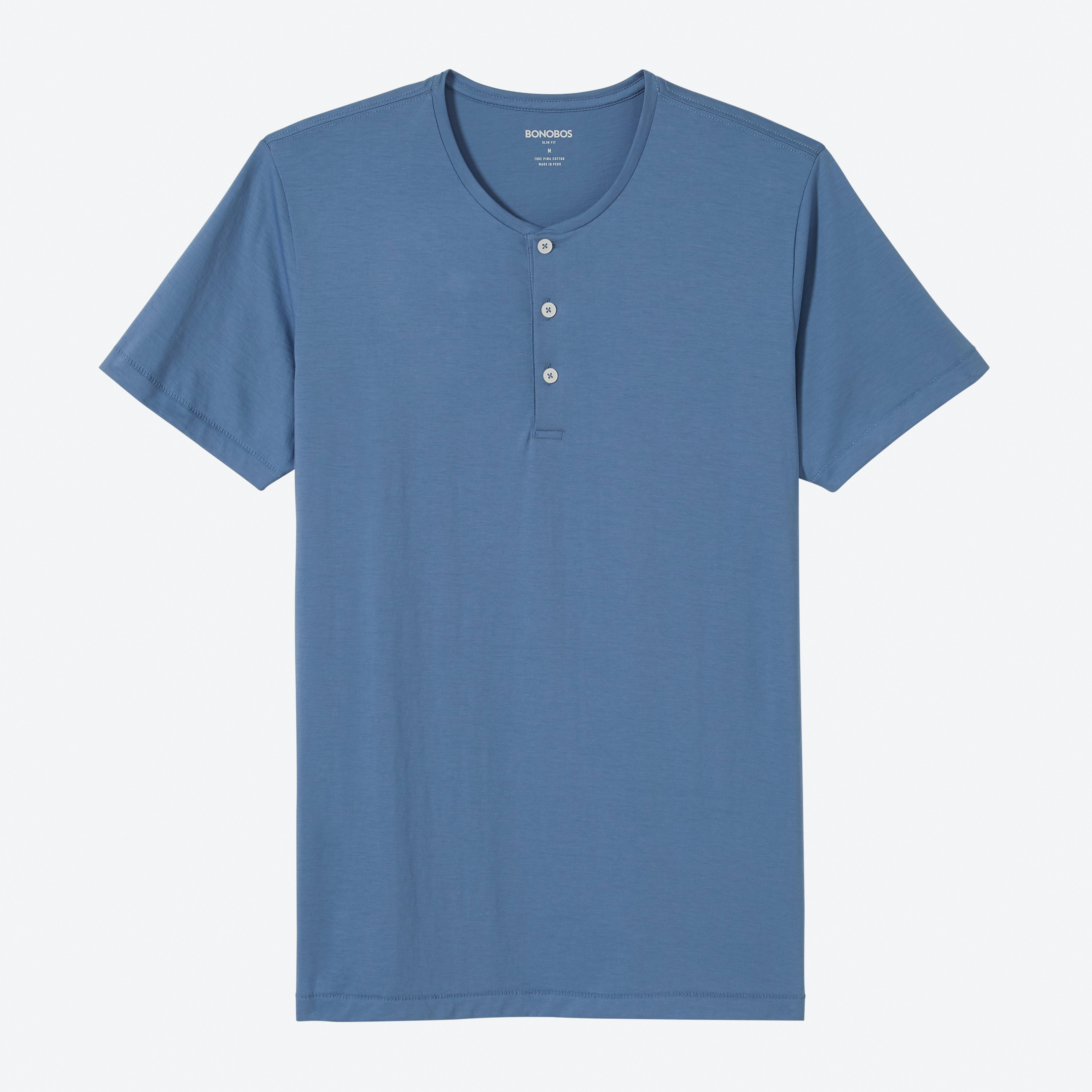 Superfine Short Sleeve Henley