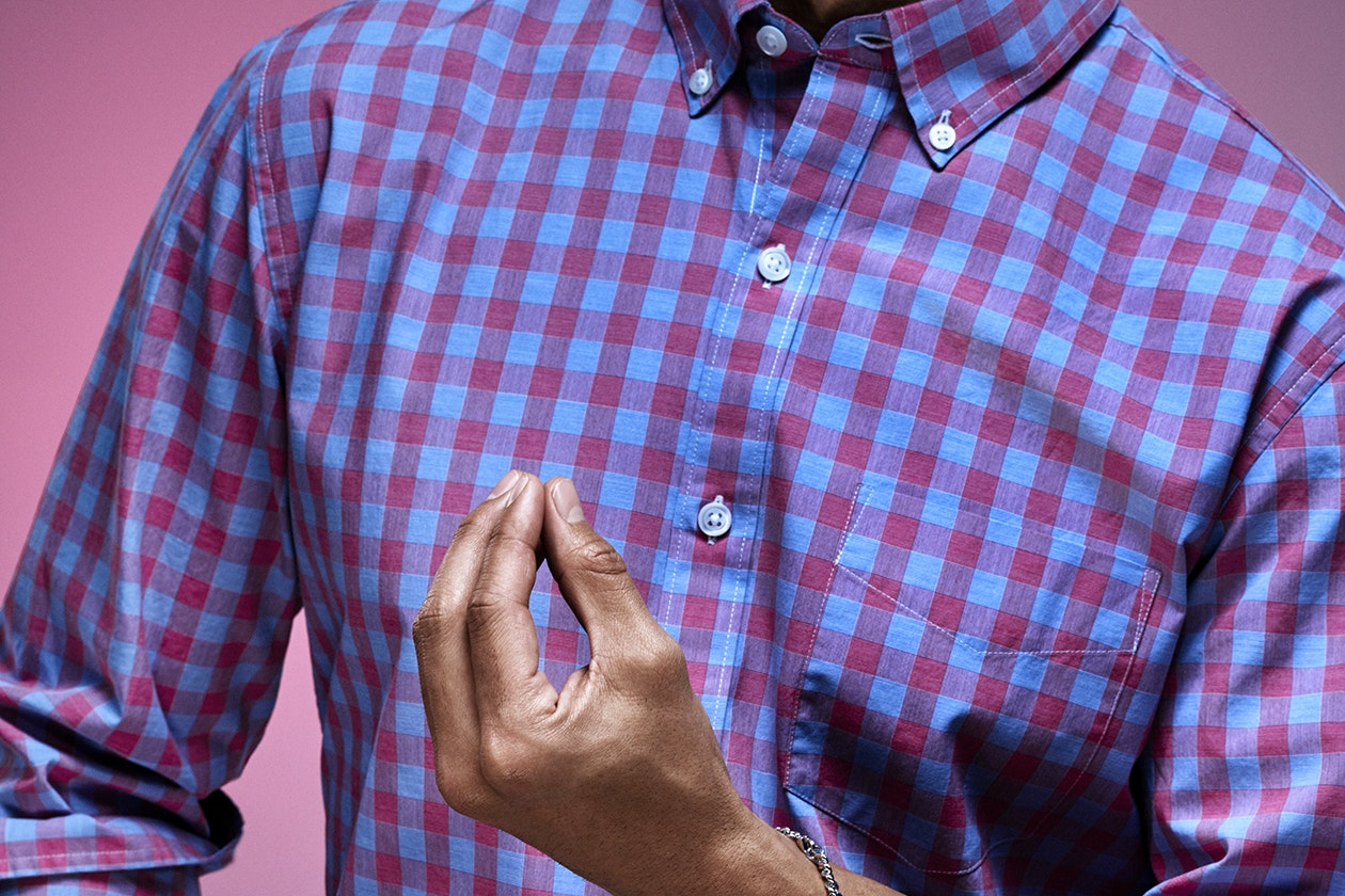 Editorial photo for Washed Button Down Shirts category