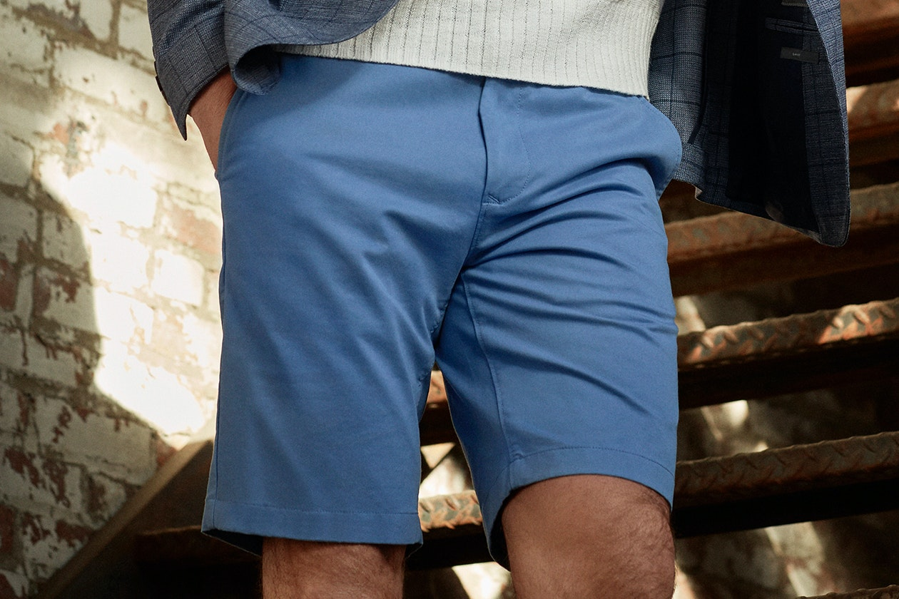 Editorial photo for Washed Chino Shorts category
