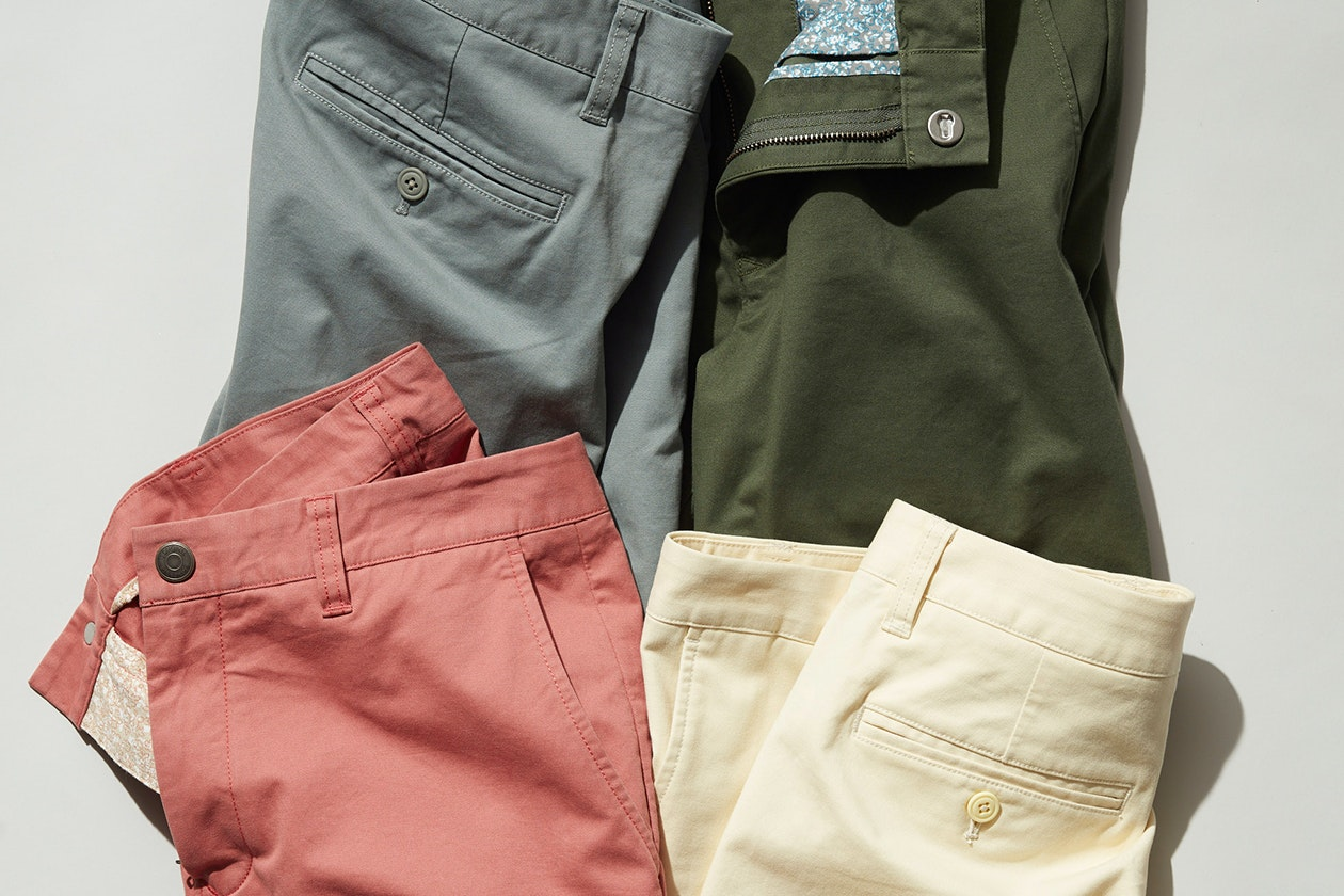 Stretch Washed Chino Shorts Hero Image
