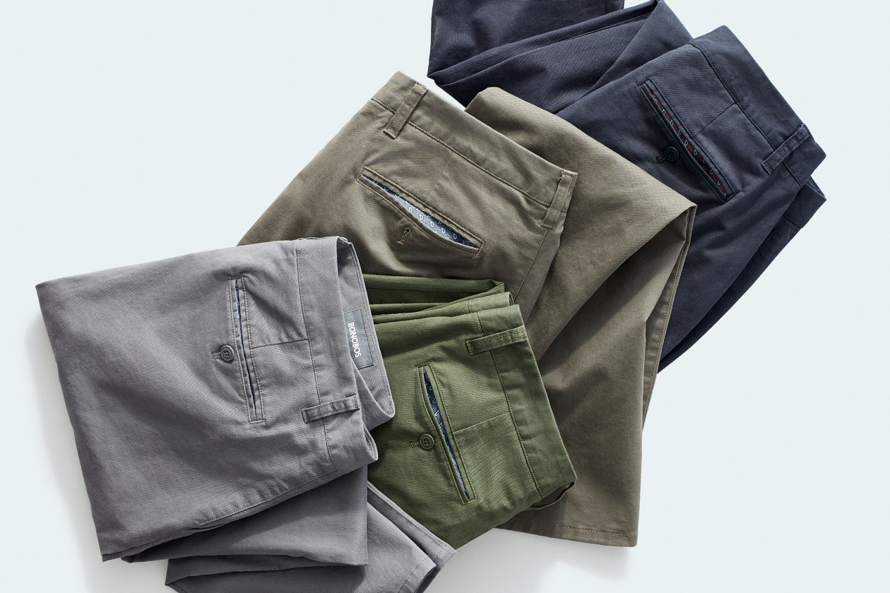 Stretch Washed Chinos Hero Image