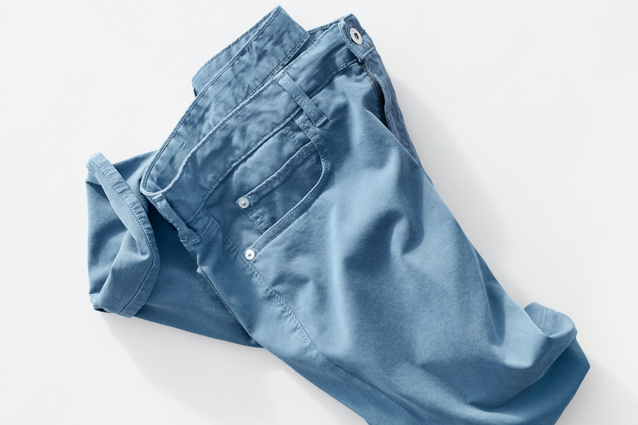 Italian Brushed 5-Pocket Pants Hero Image