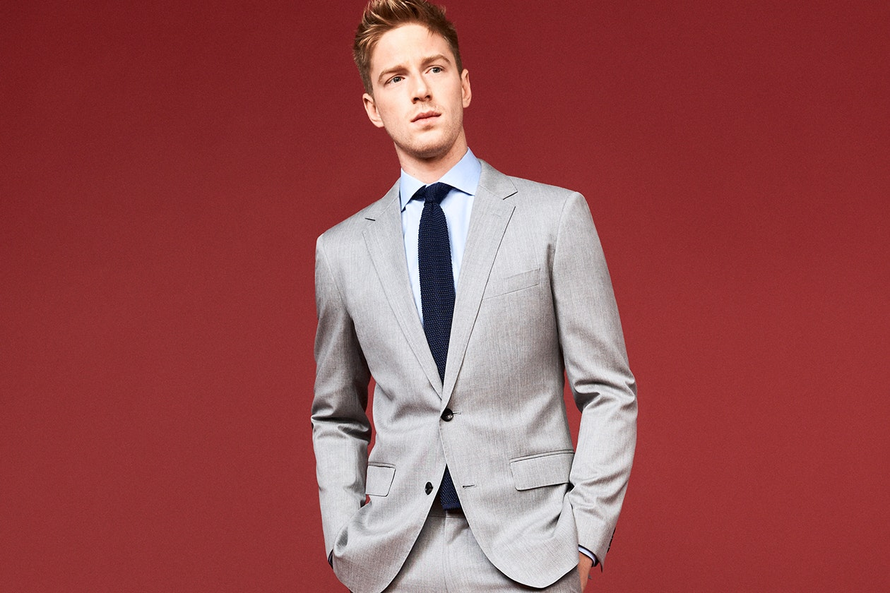 Editorial photo for Foundation Italian Wool Suits category