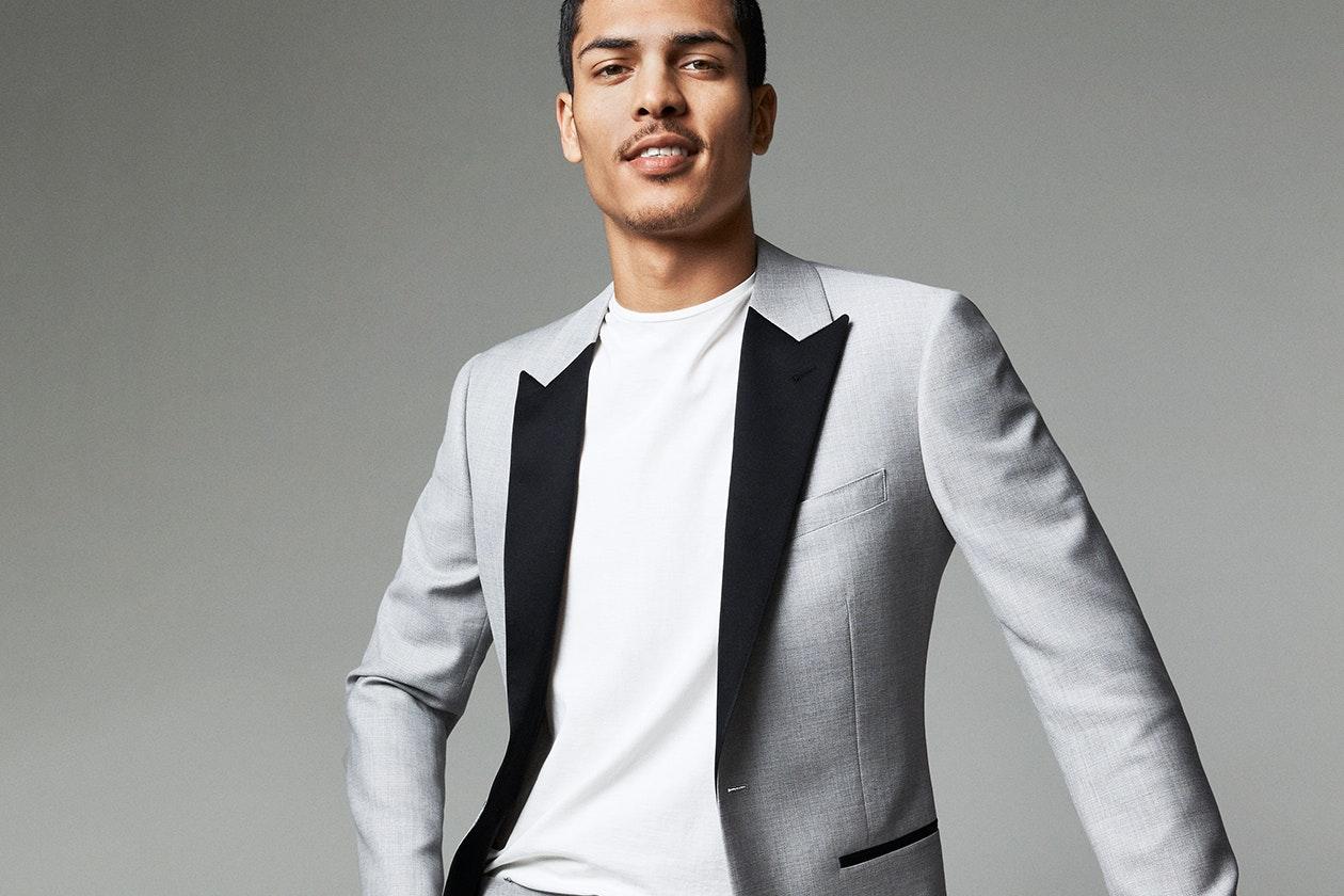 Editorial photo for Capstone Italian Wool Tuxedos category