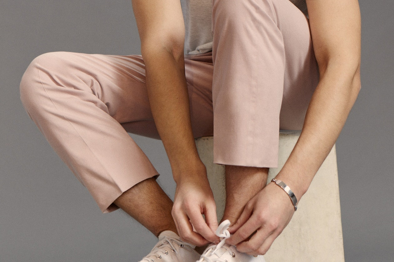 Editorial photo for Premium Chinos category