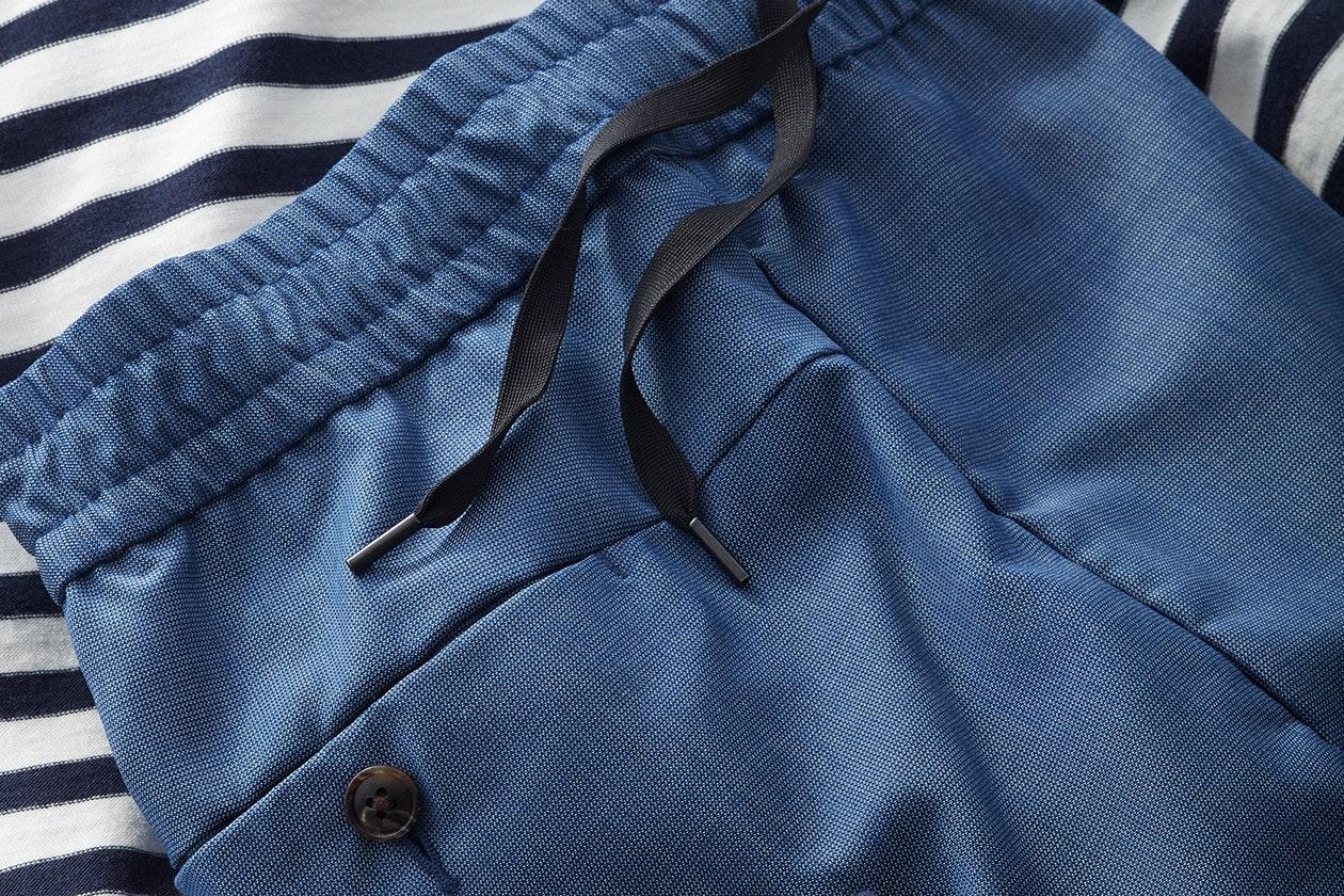 Wool E-Waist Trousers Hero Image