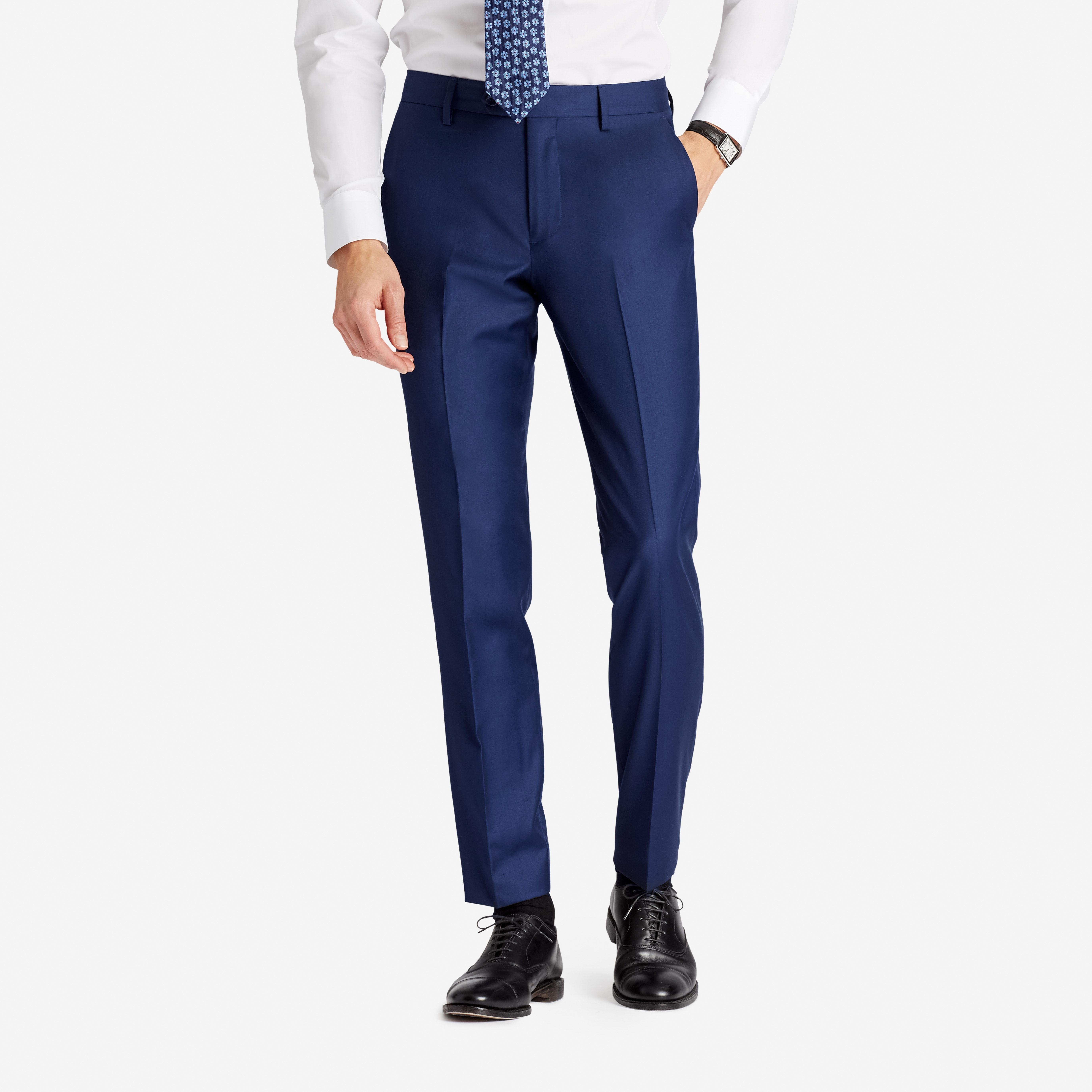 Premium Italian Wool Suit Pant