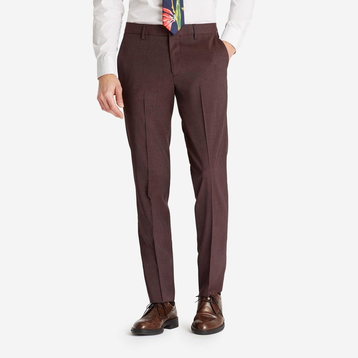 Lightweight Italian Wool Suiting Pant