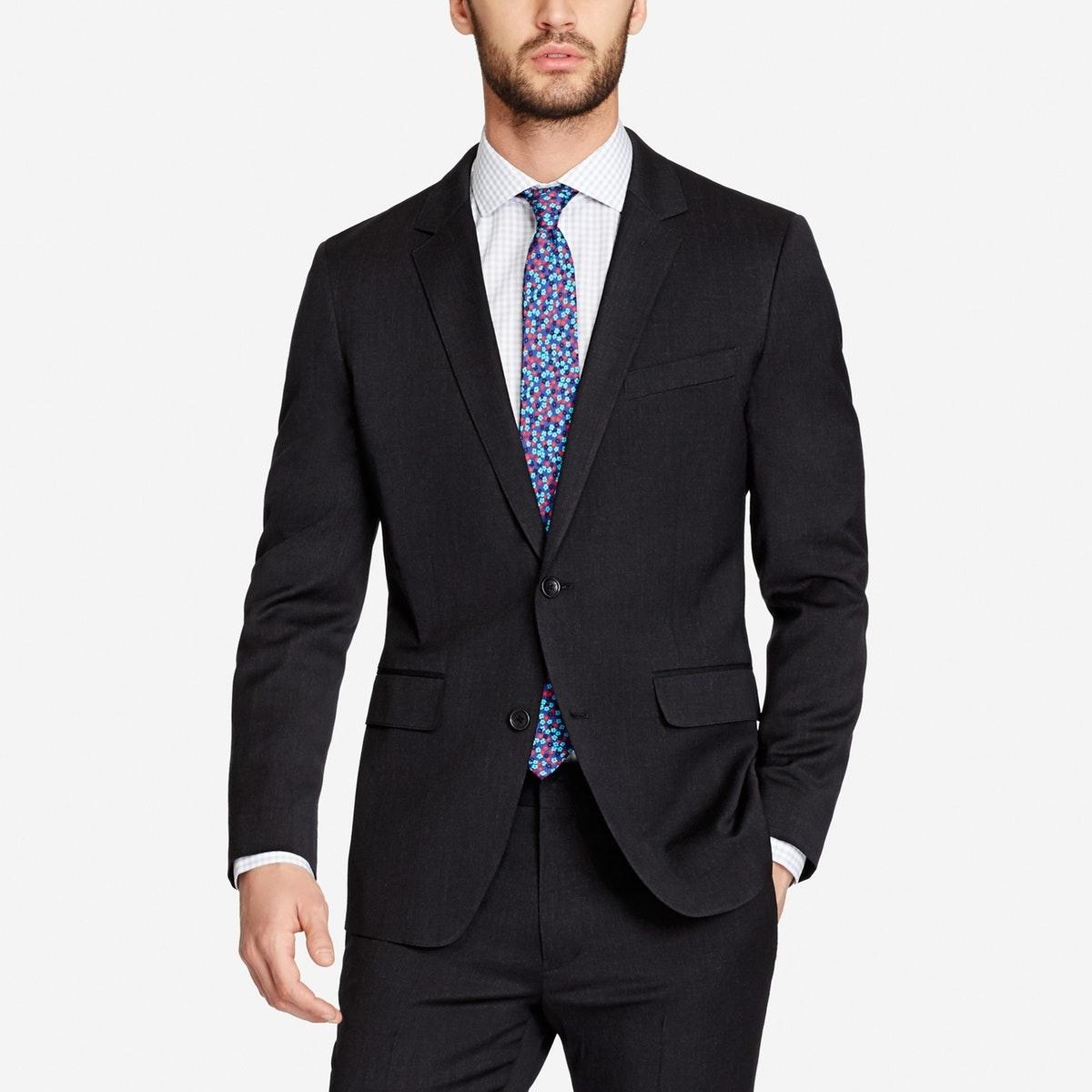 Jetsetter Stretch Wool Suit Jacket
