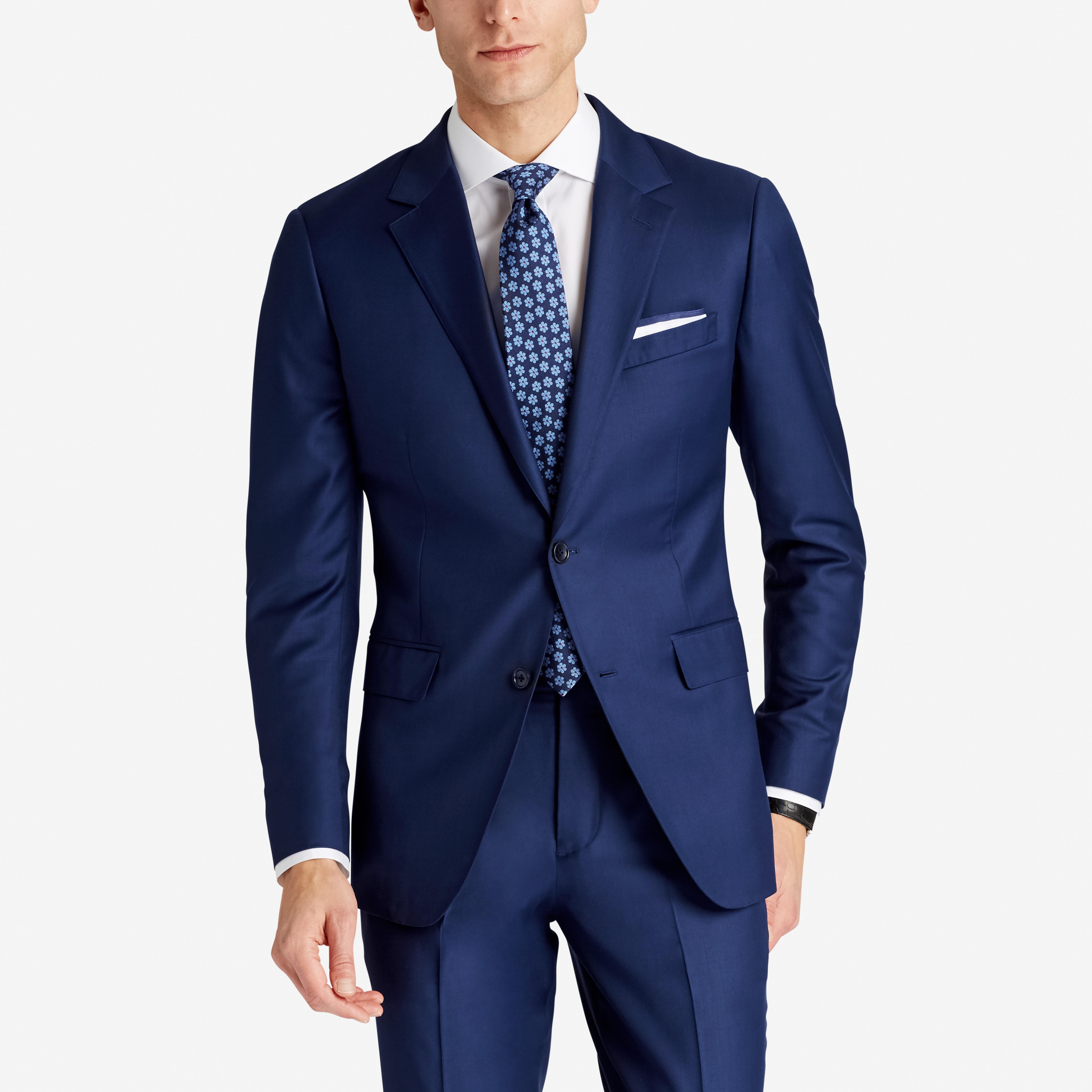 Premium Italian Wool Suit Jacket