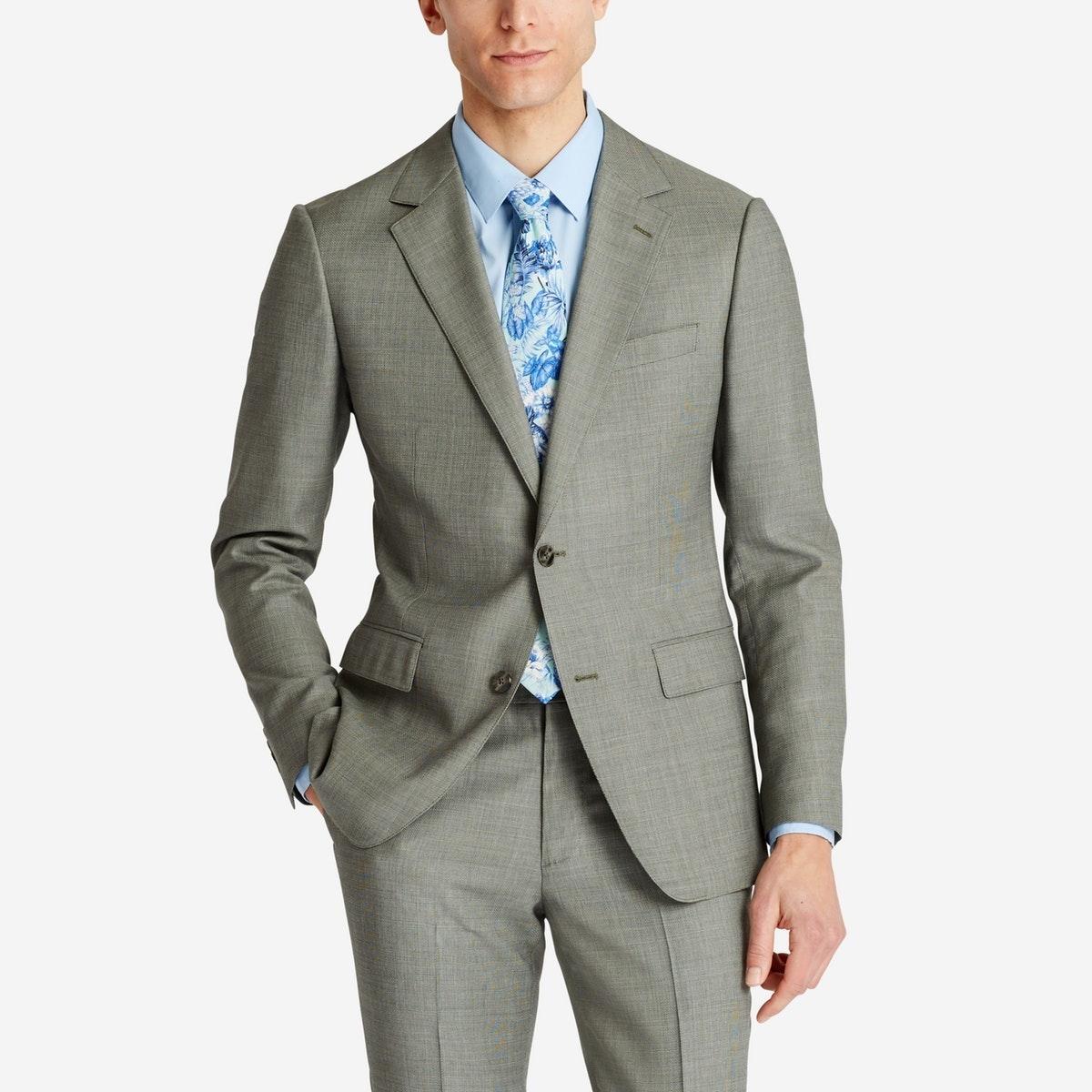 Lightweight Italian Wool Suit Jacket