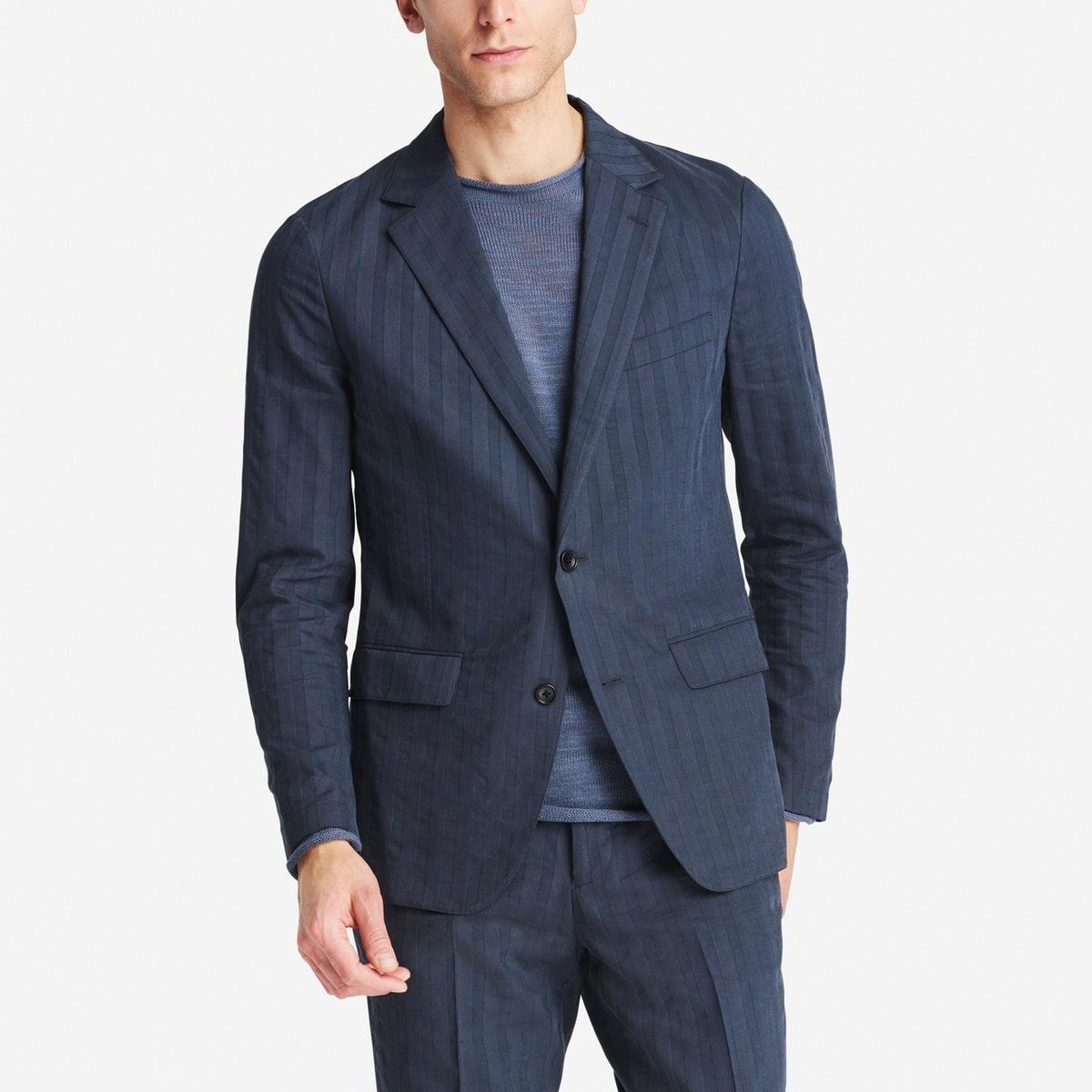 Lightweight Italian Cotton Suit Jacket
