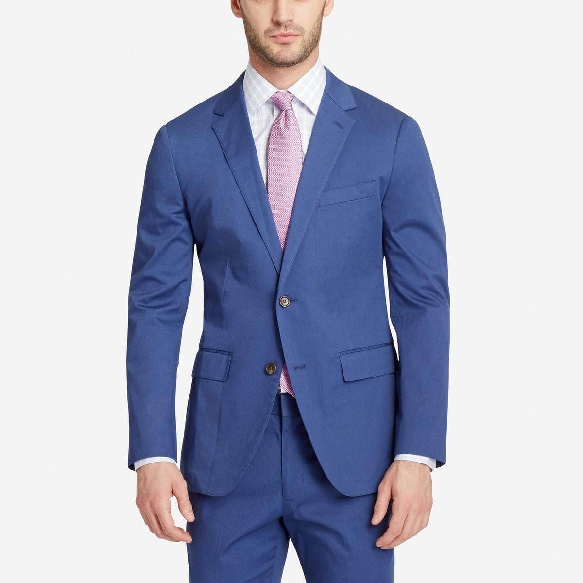 Jetsetter Stretch Italian Cotton Suit Jacket