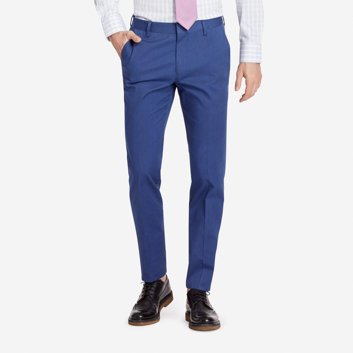 Jetsetter Stretch Italian Cotton Suit Pant