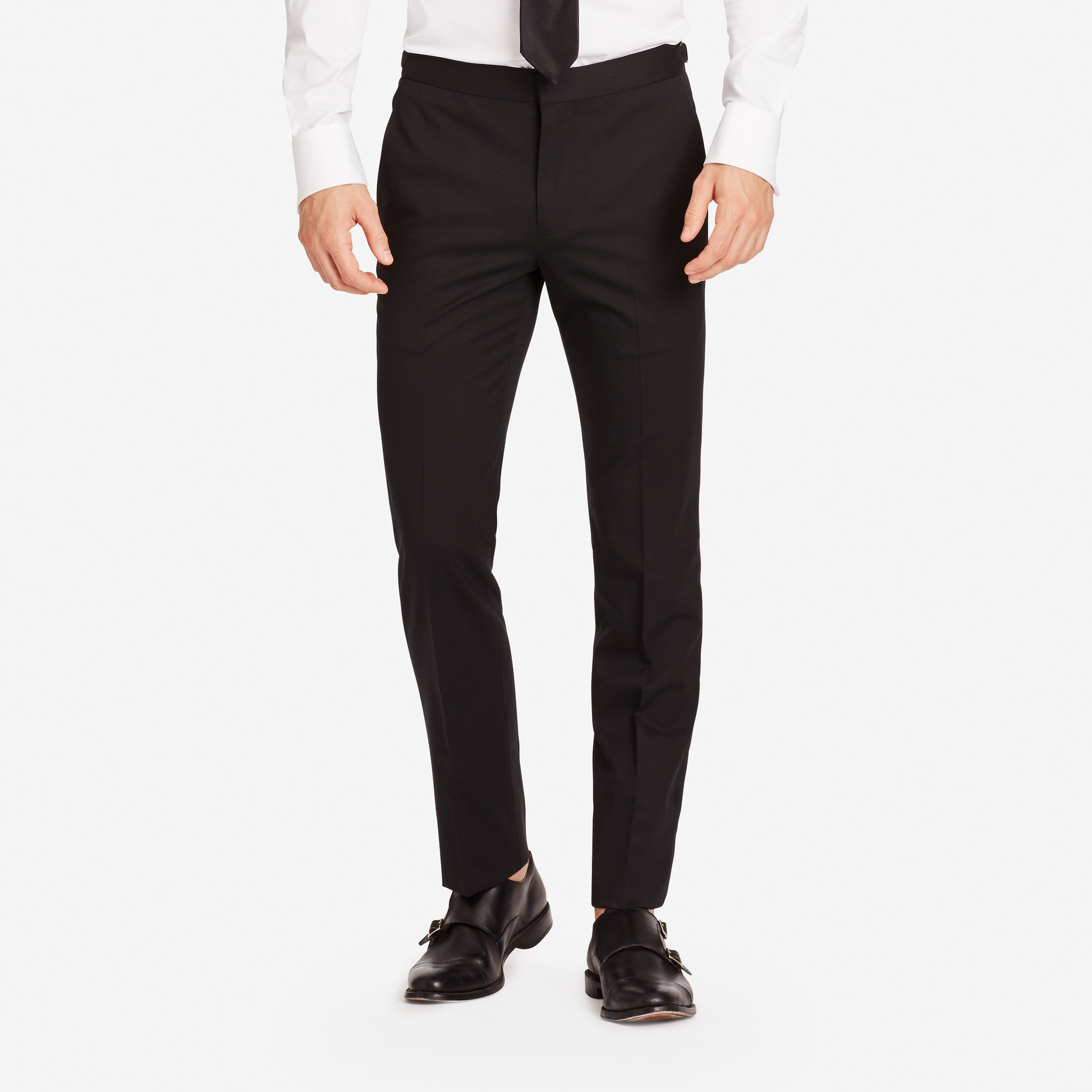 Jetsetter Stretch Italian Wool Tuxedo Pant