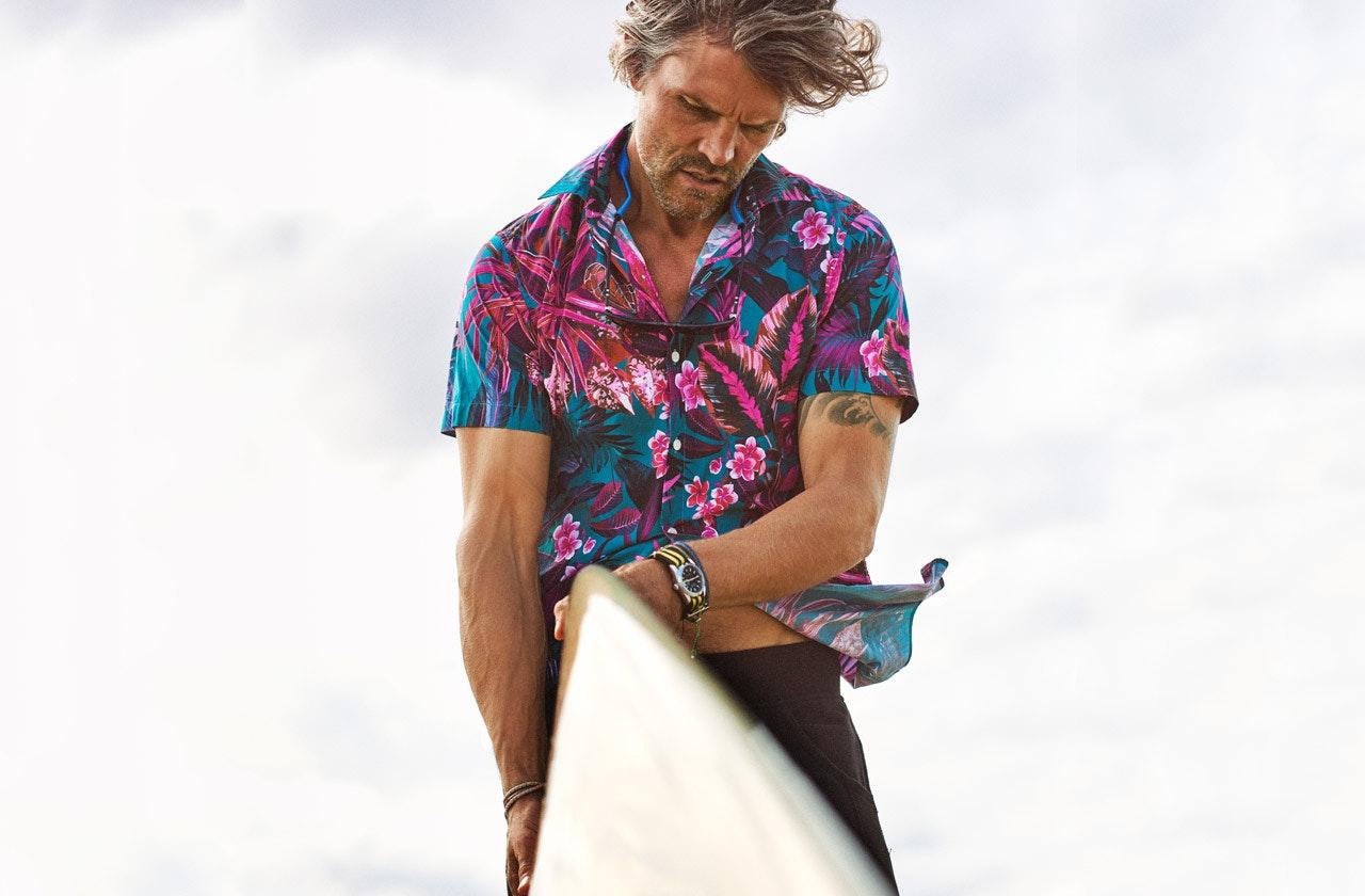 Amalfi Premium Short Sleeve Shirt Hero Image