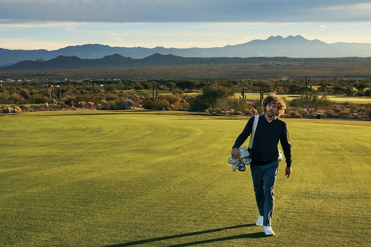 Knockdown Club Collar Golf Sweater Hero Image