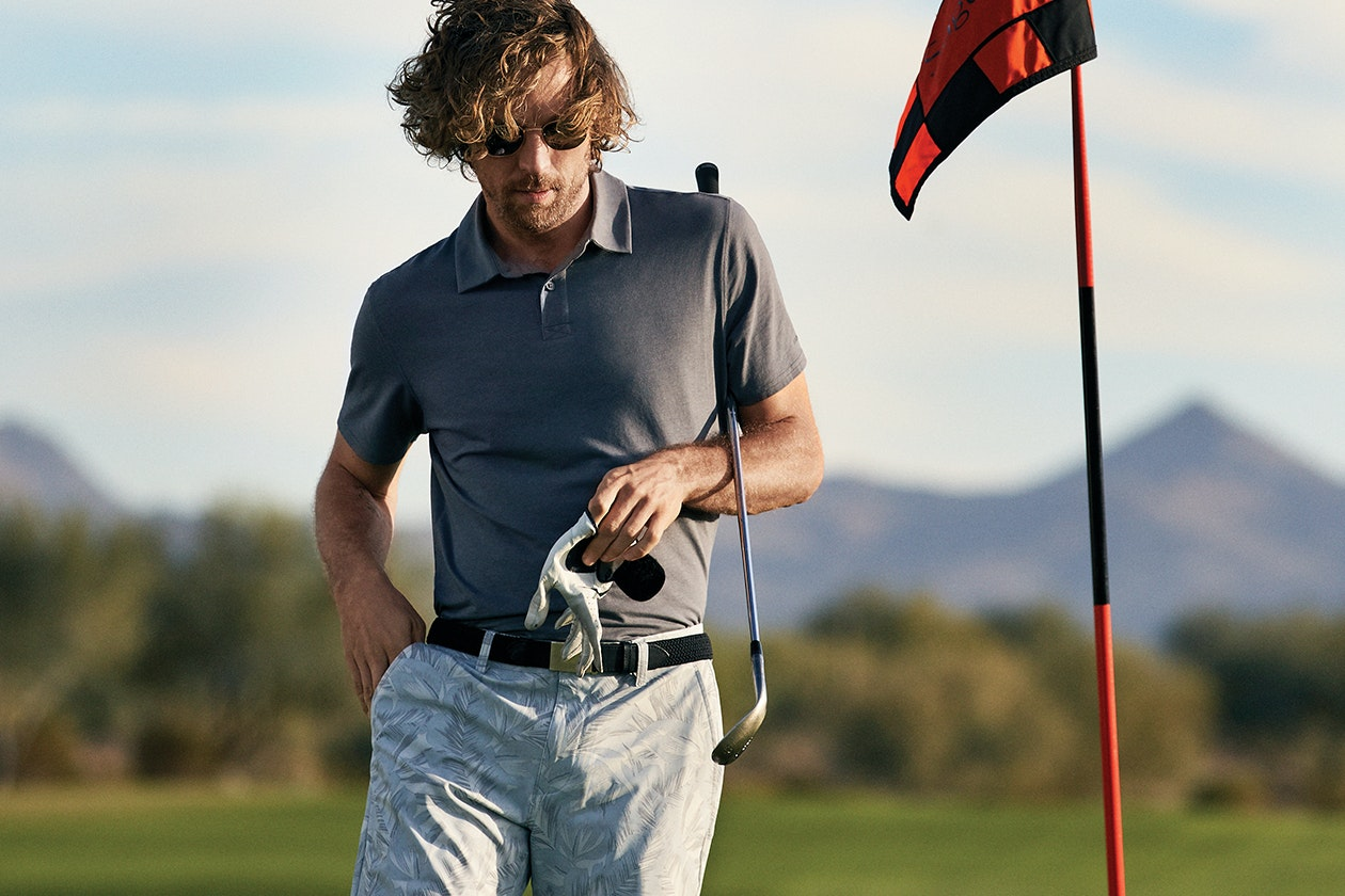 Editorial photo for Highland Lightweight Golf Pants category