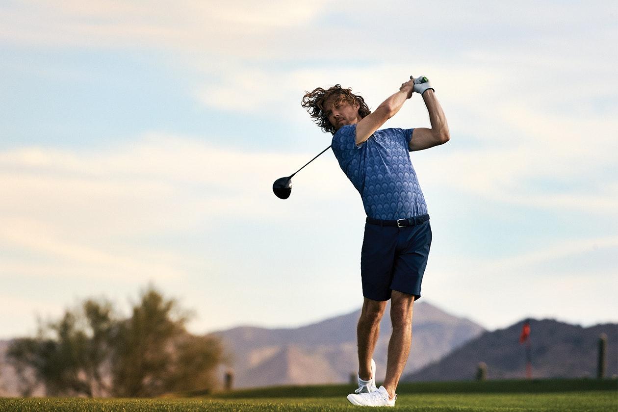Highland Lightweight Golf Shorts Hero Image