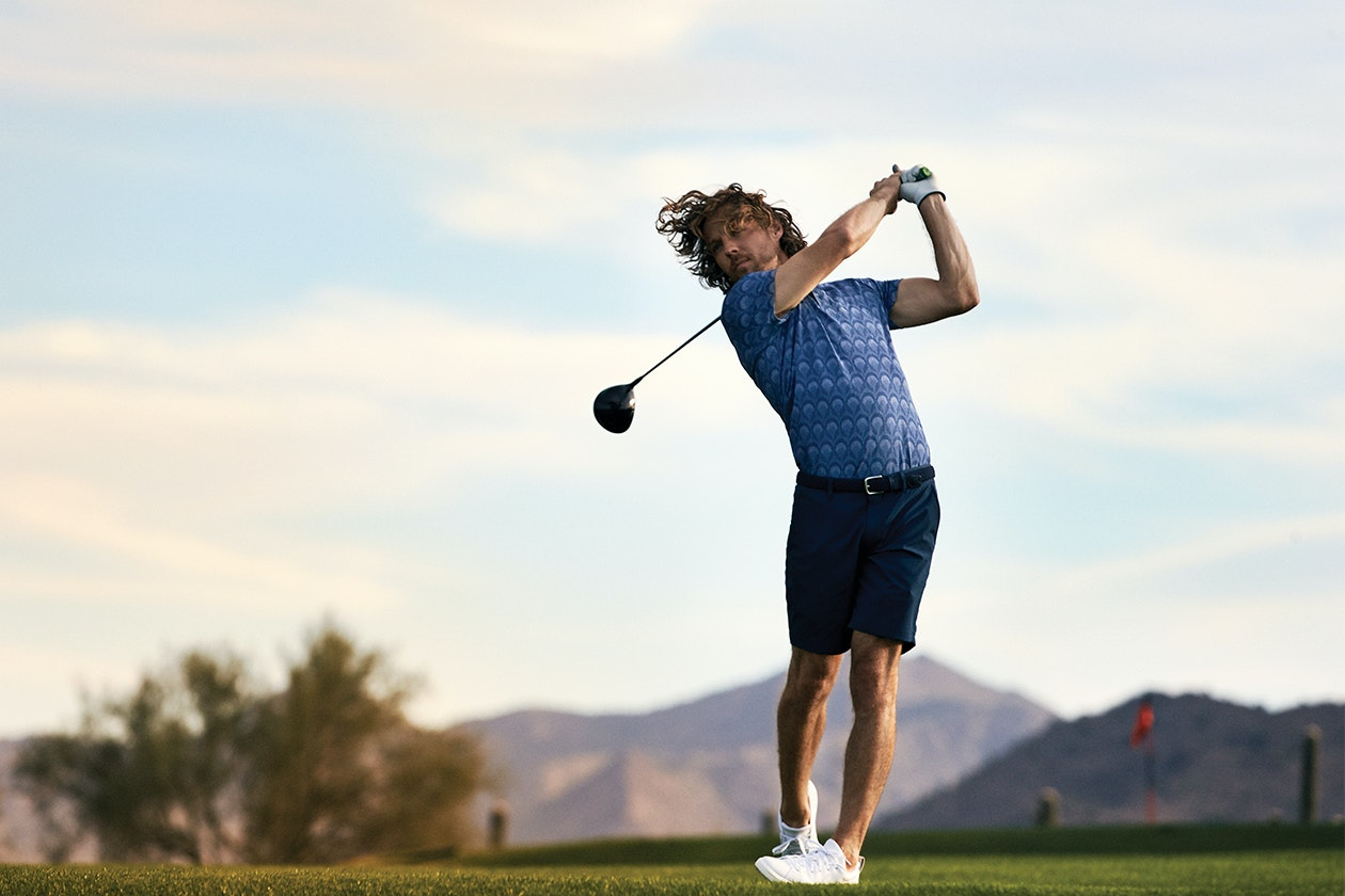 Editorial photo for Highland Lightweight Golf Shorts category