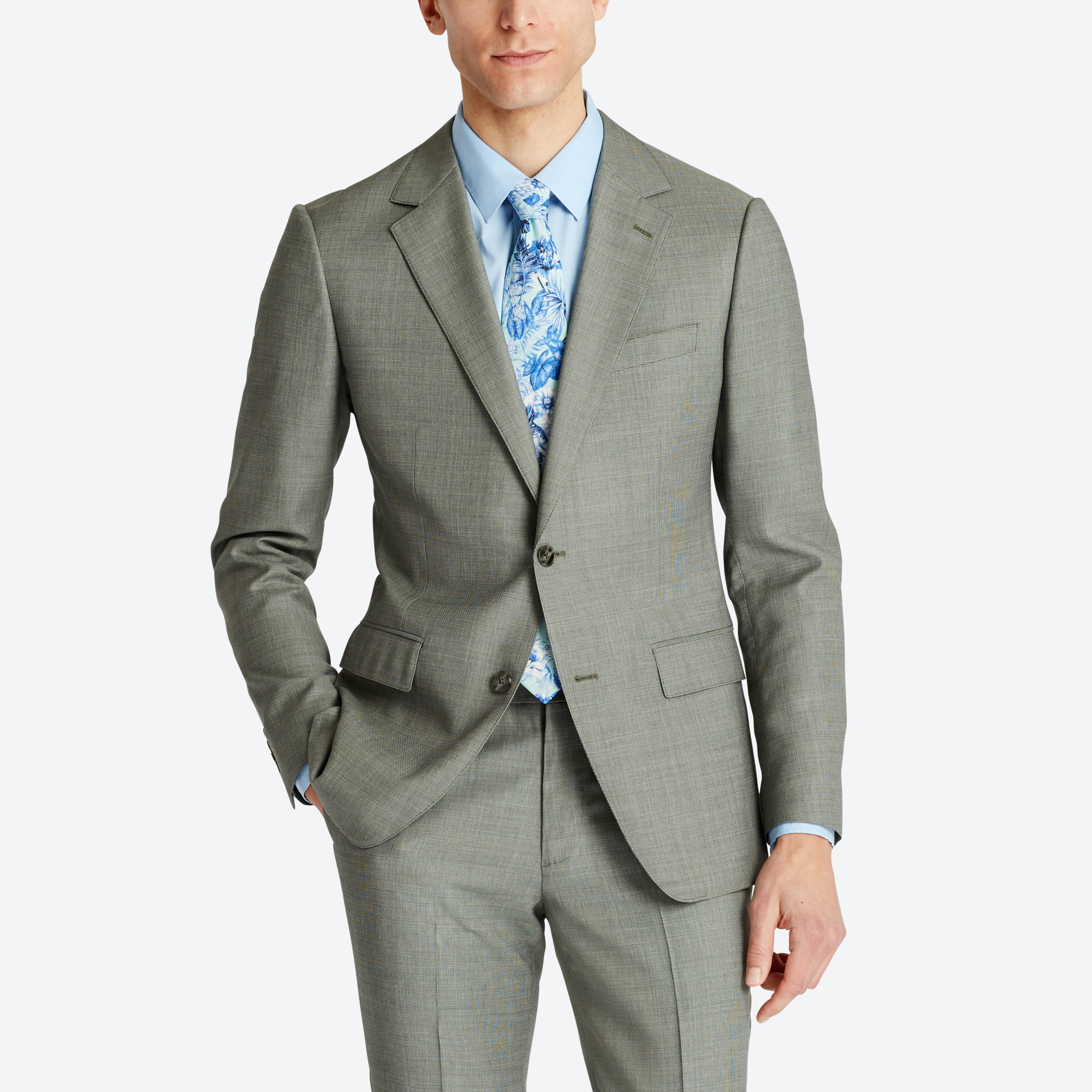 Lightweight Italian Wool Suit Jacket thumbnail
