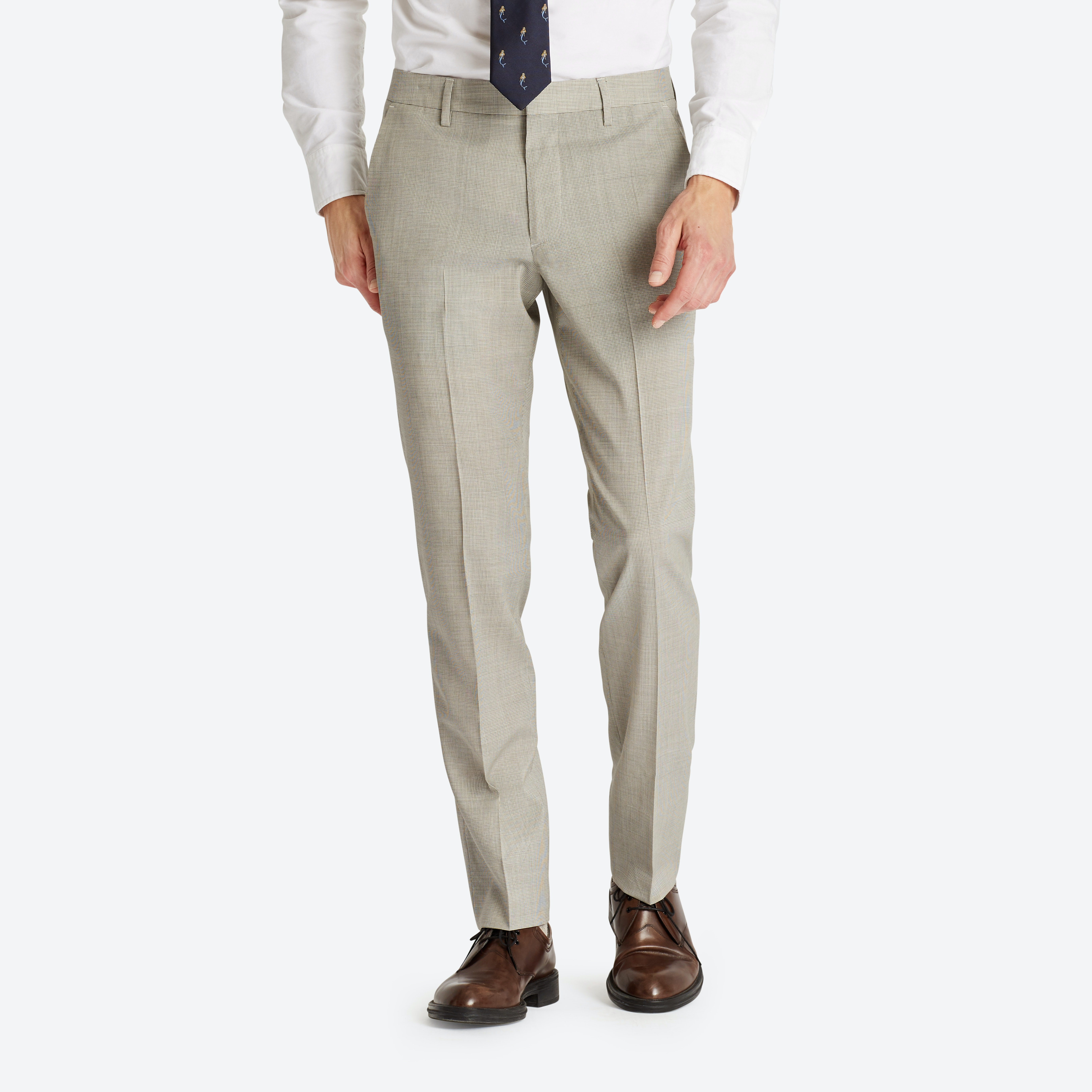 Lightweight Italian Wool Suiting Pant thumbnail