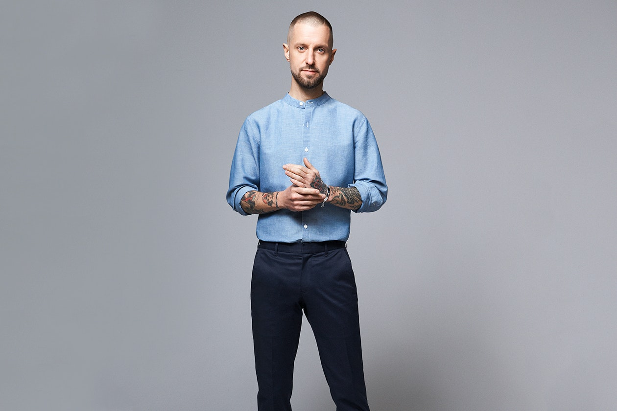 Chambray Button-Down Shirt Hero Image
