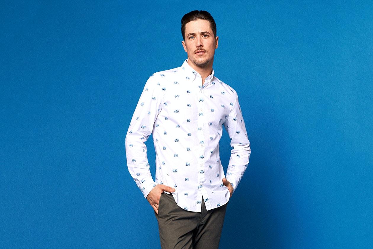 Wash Button-Down Shirts Hero Image