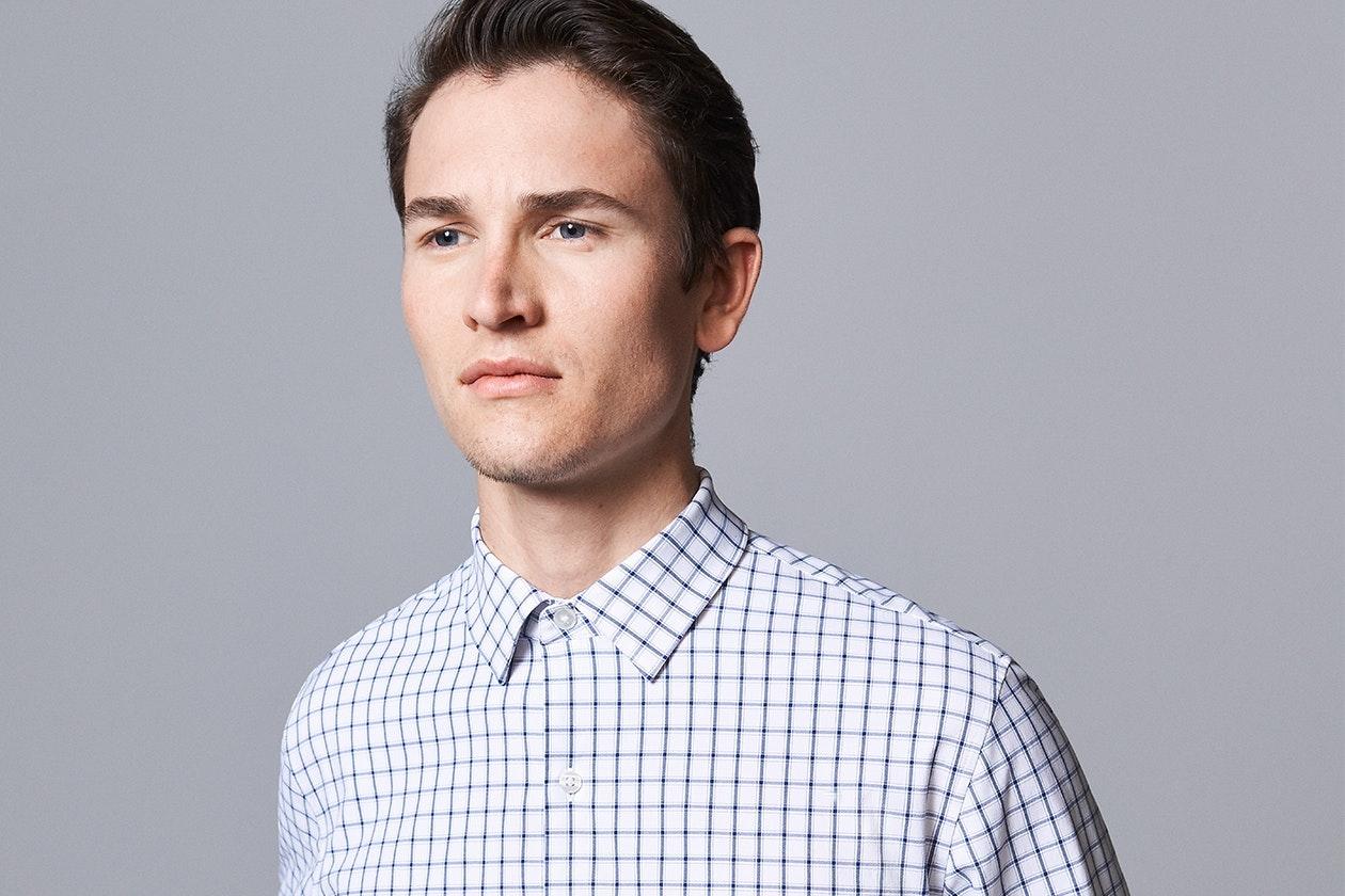 Dress Casual Shirts Hero Image