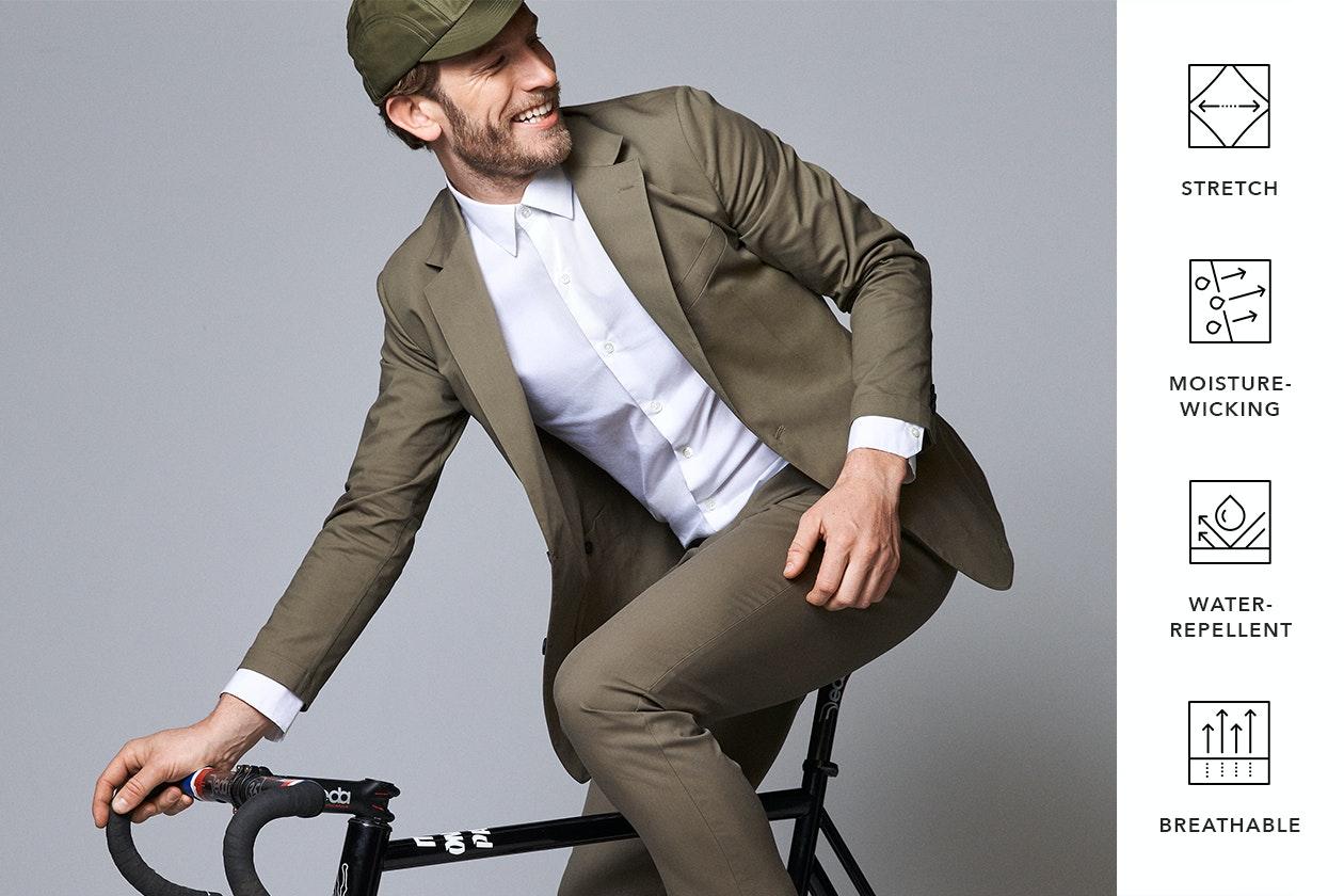 Tech Blazers & Coats Hero Image