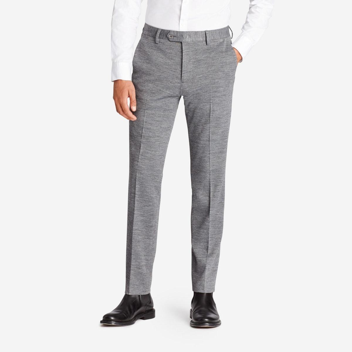 Jetsetter Stretch Italian Knit Suit Pant