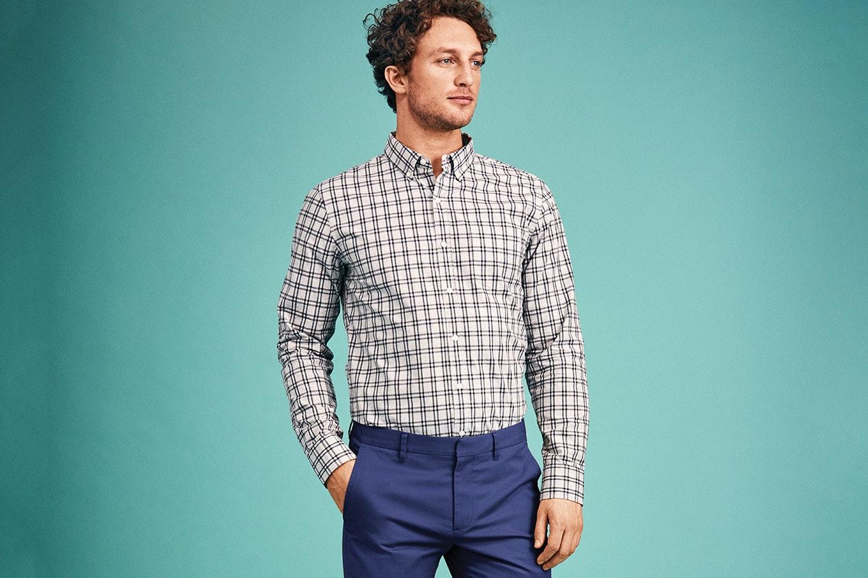 Washed Button-Down Shirt Hero Image