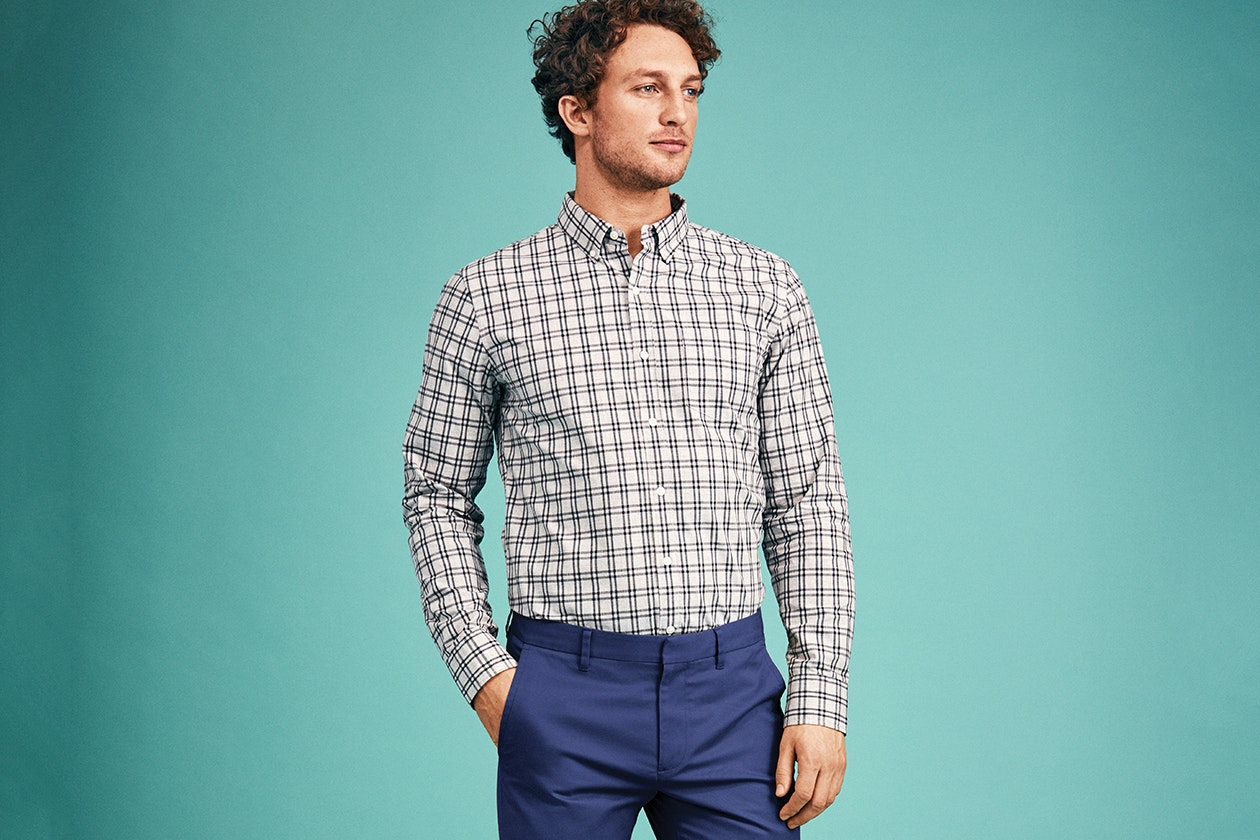 Editorial photo for Washed Button-Down Shirt category