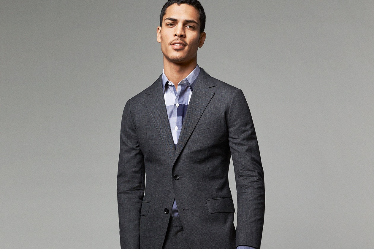 Editorial photo for Jetsetter Stretch Wool Suits category