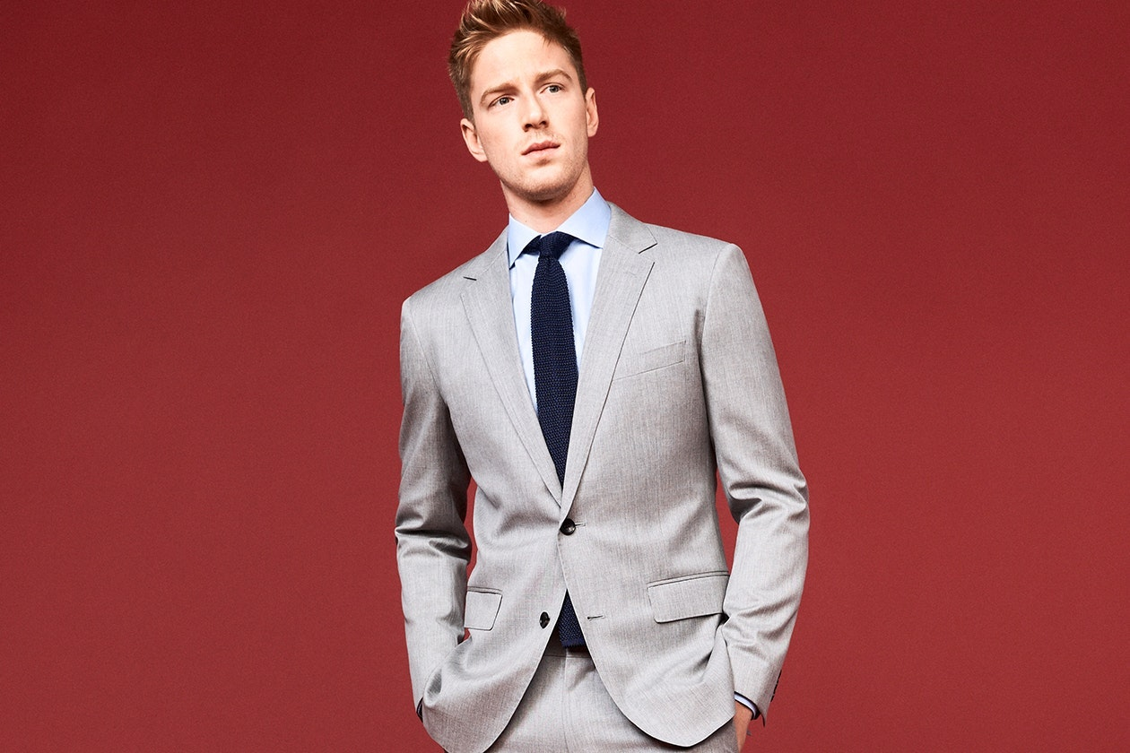 Foundation Italian Wool Suits Hero Image