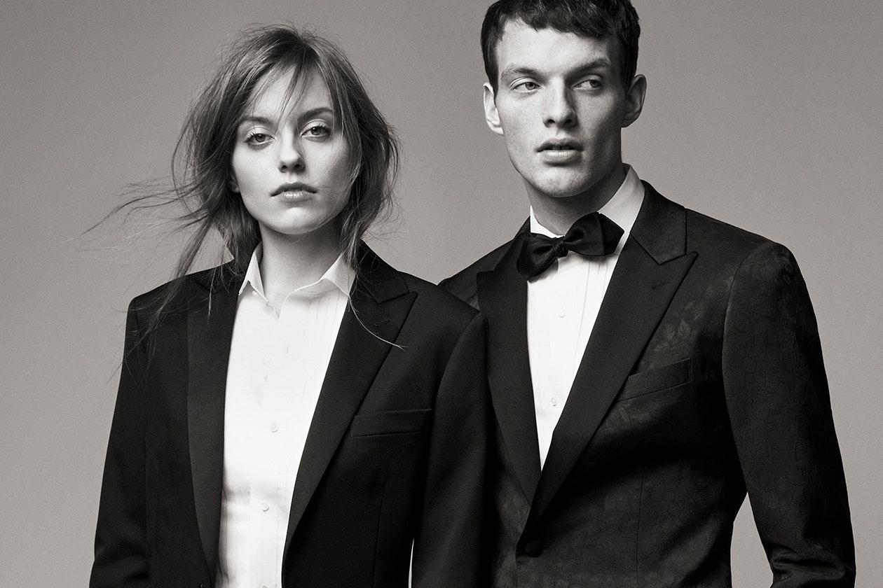 Editorial photo for Tuxedo Blazers category