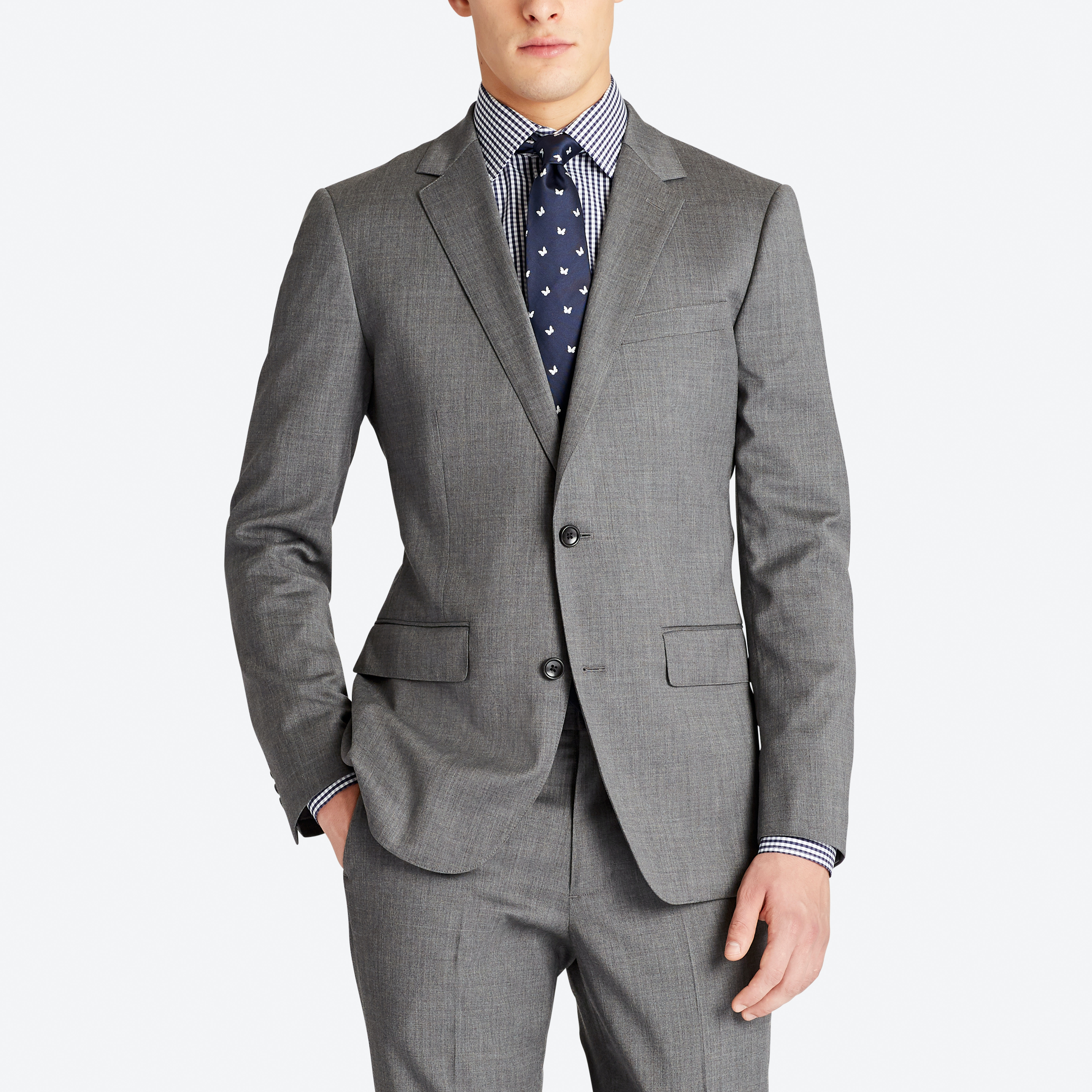 Jetsetter Stretch Wool Suit Jacket thumbnail