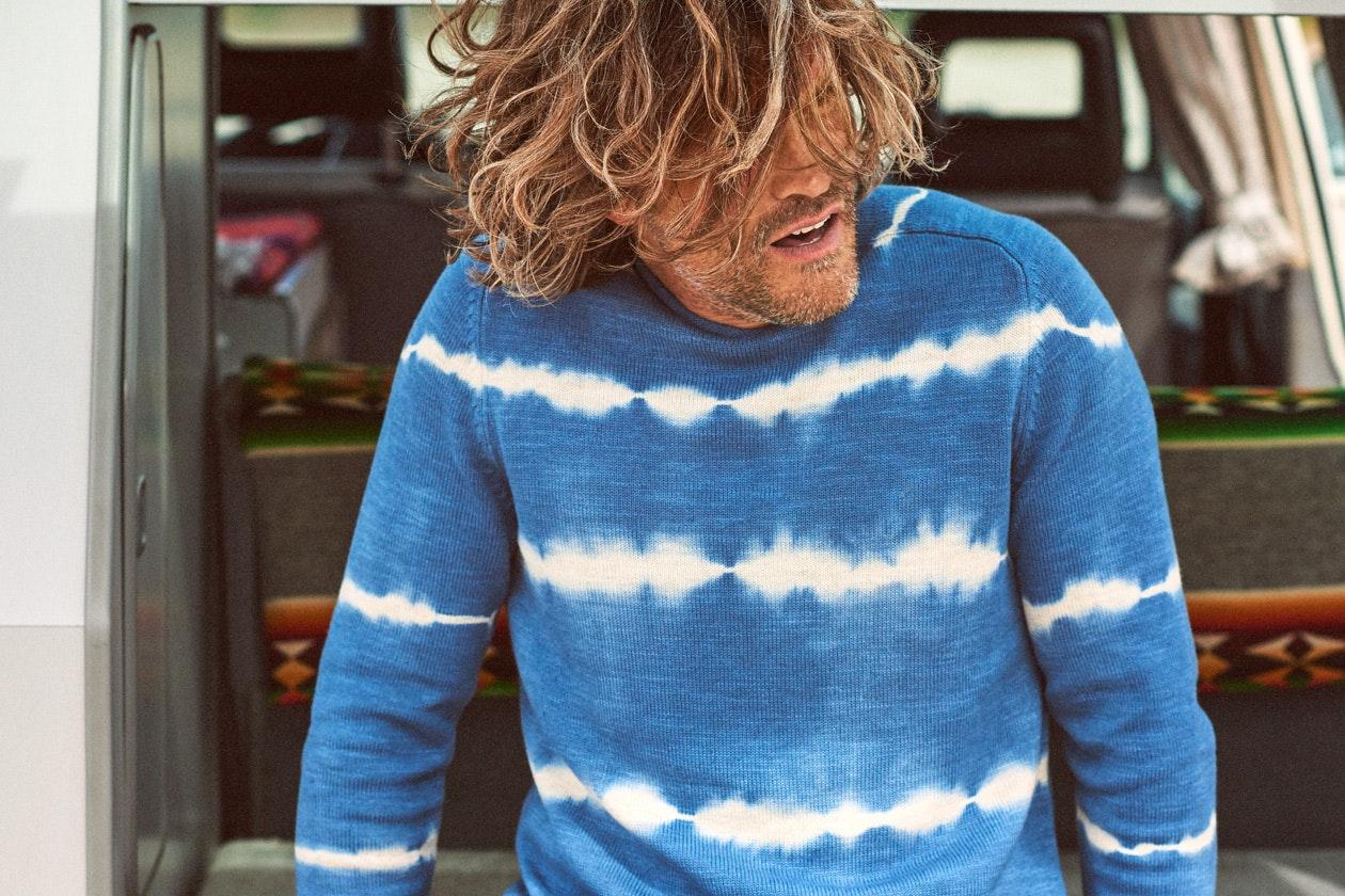 Cotton Linen Roll Neck Sweater Hero Image