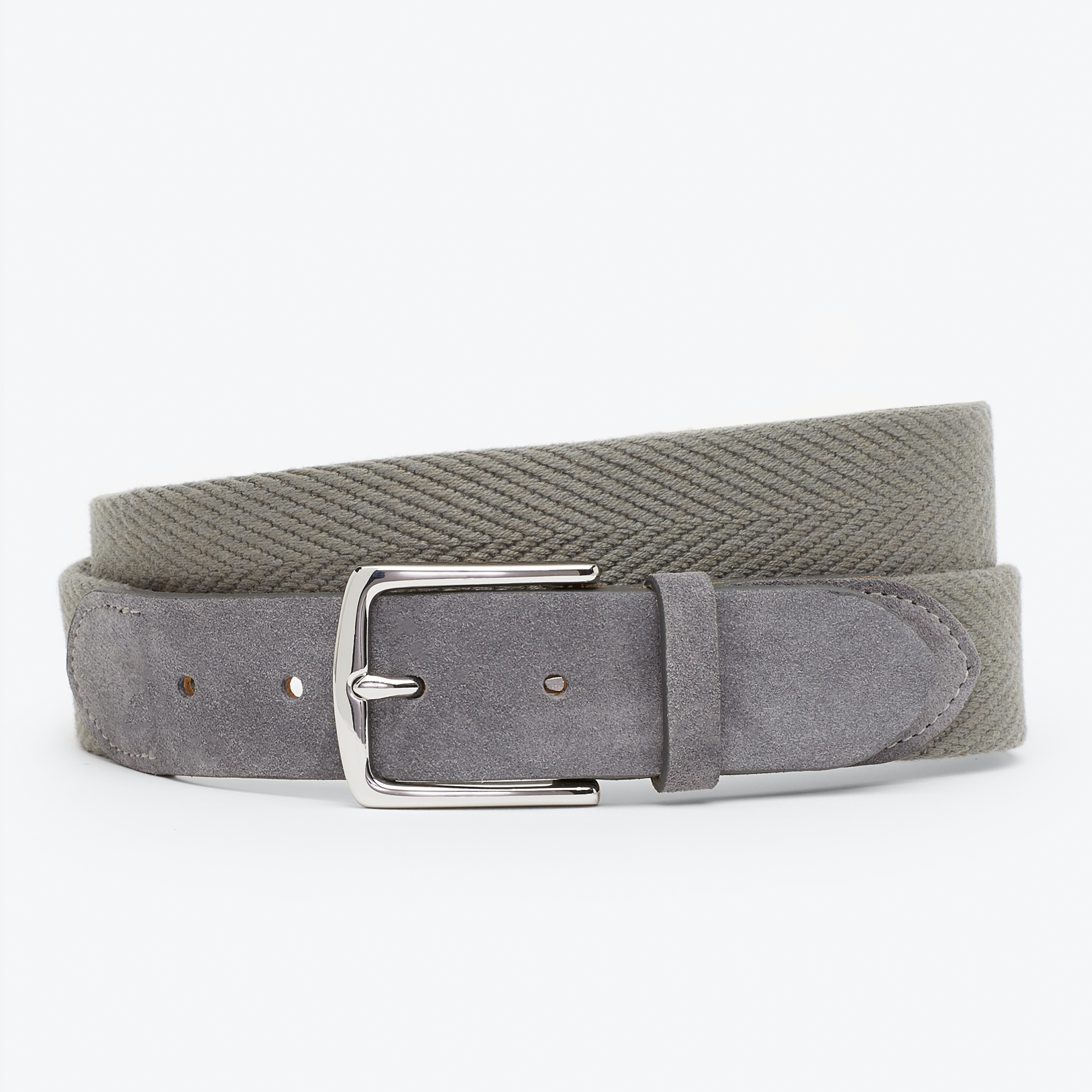 Woven Herringbone Belt